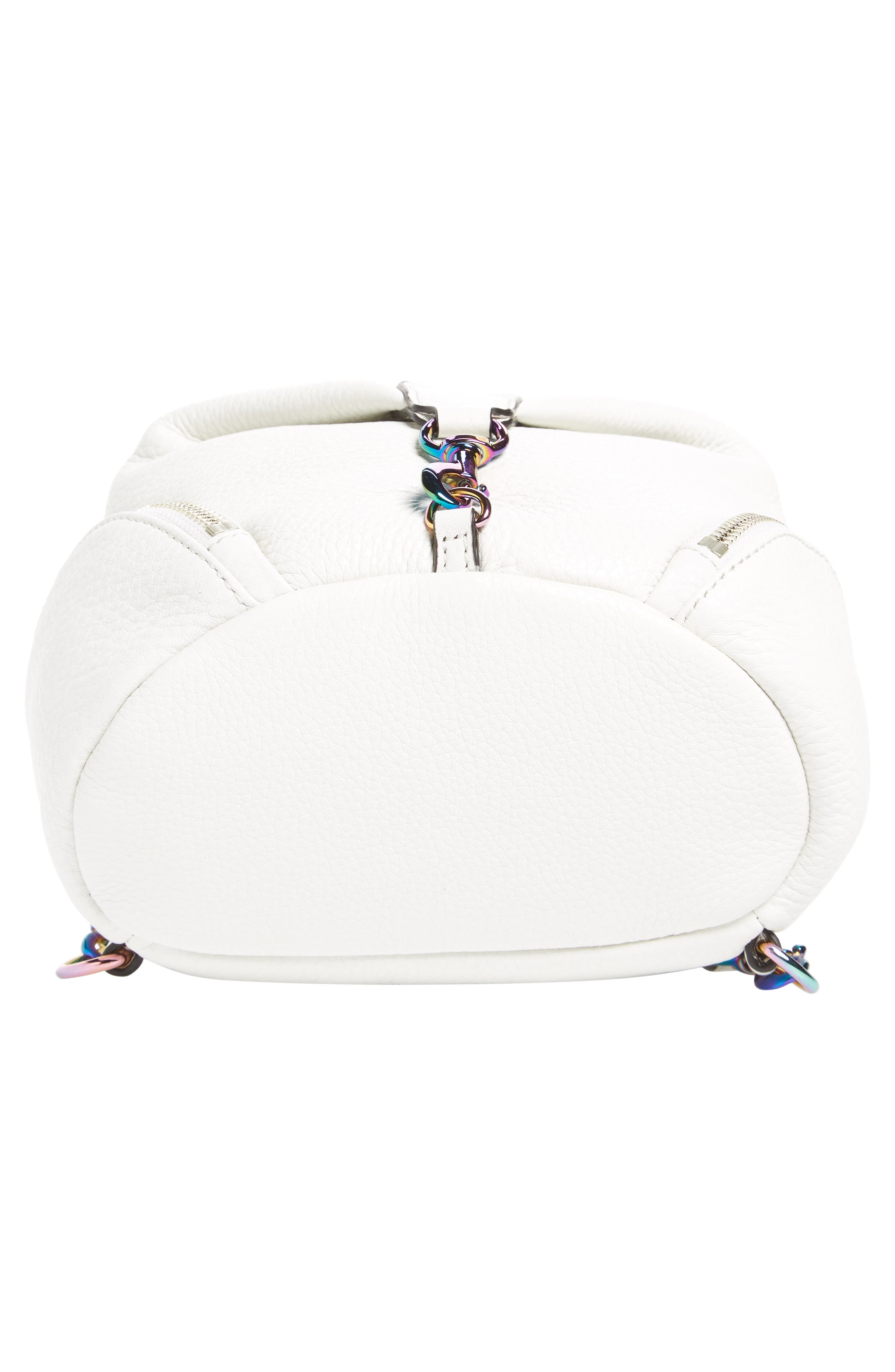 Alternate Image 6  - Rebecca Minkoff Mini Julian Nubuck Leather Convertible Backpack