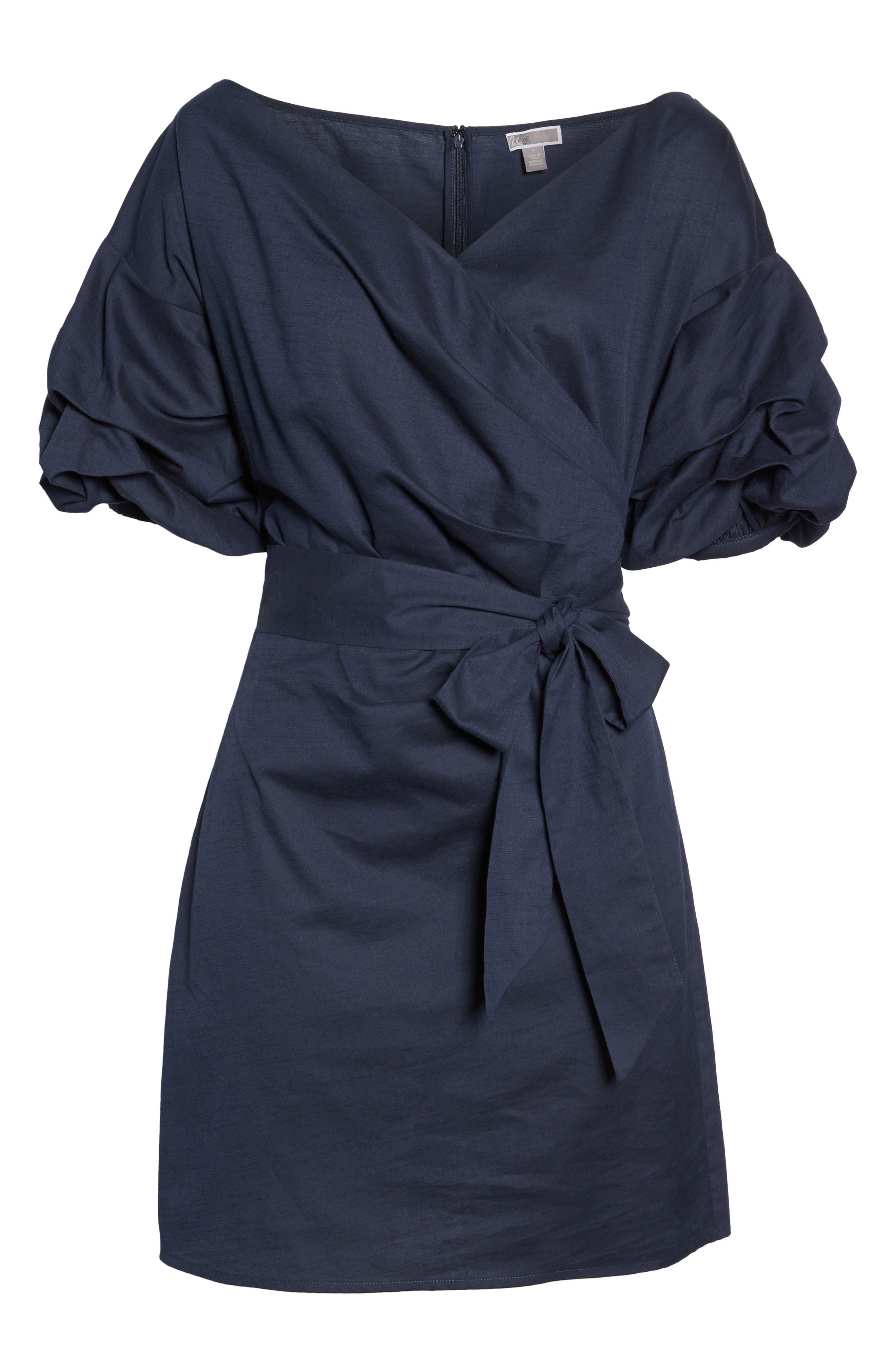 Alternate Image 8  - Chelsea28 Billow Sleeve Dress