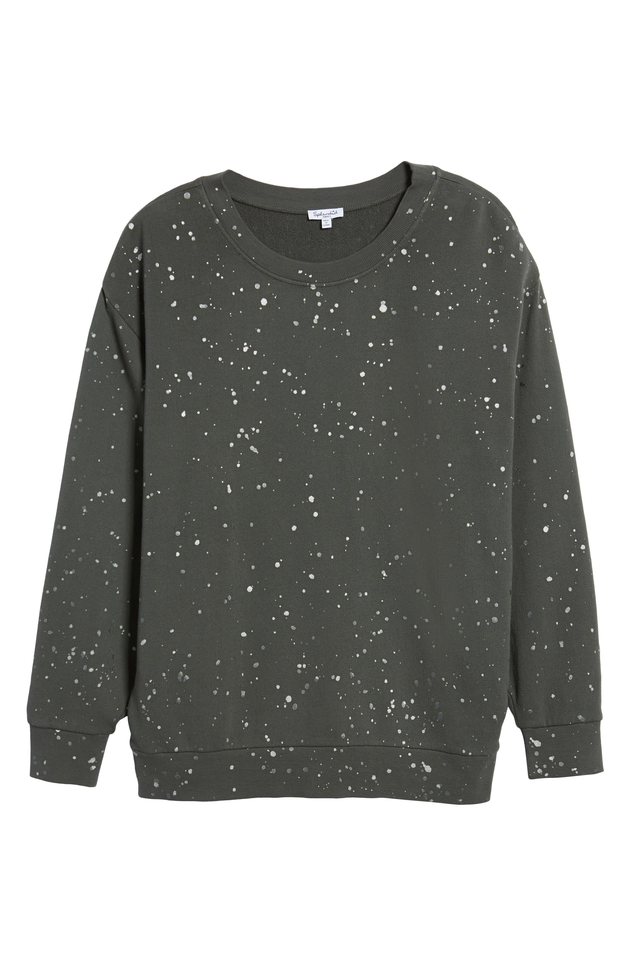 Graphic Sweatshirt,                         Main,                         color, Lead
