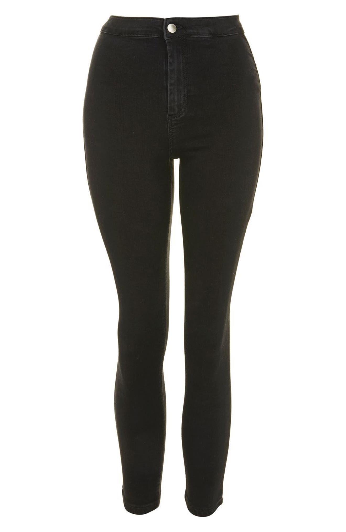 Alternate Image 3  - Topshop Joni High Waist Crop Skinny Jeans (Petite)