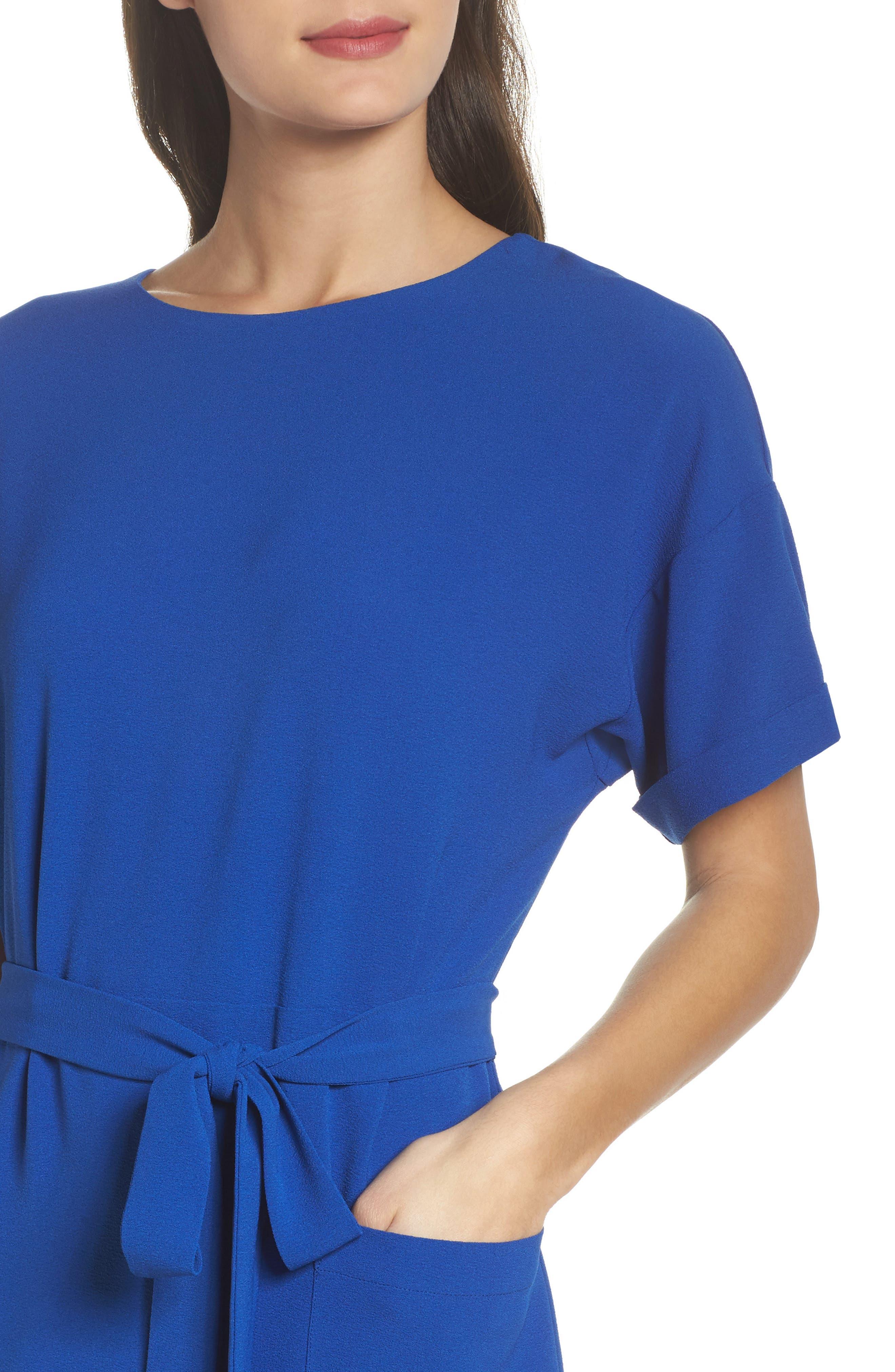 Alternate Image 4  - Felicity & Coco Halia Tie Waist Dress (Regular & Petite)