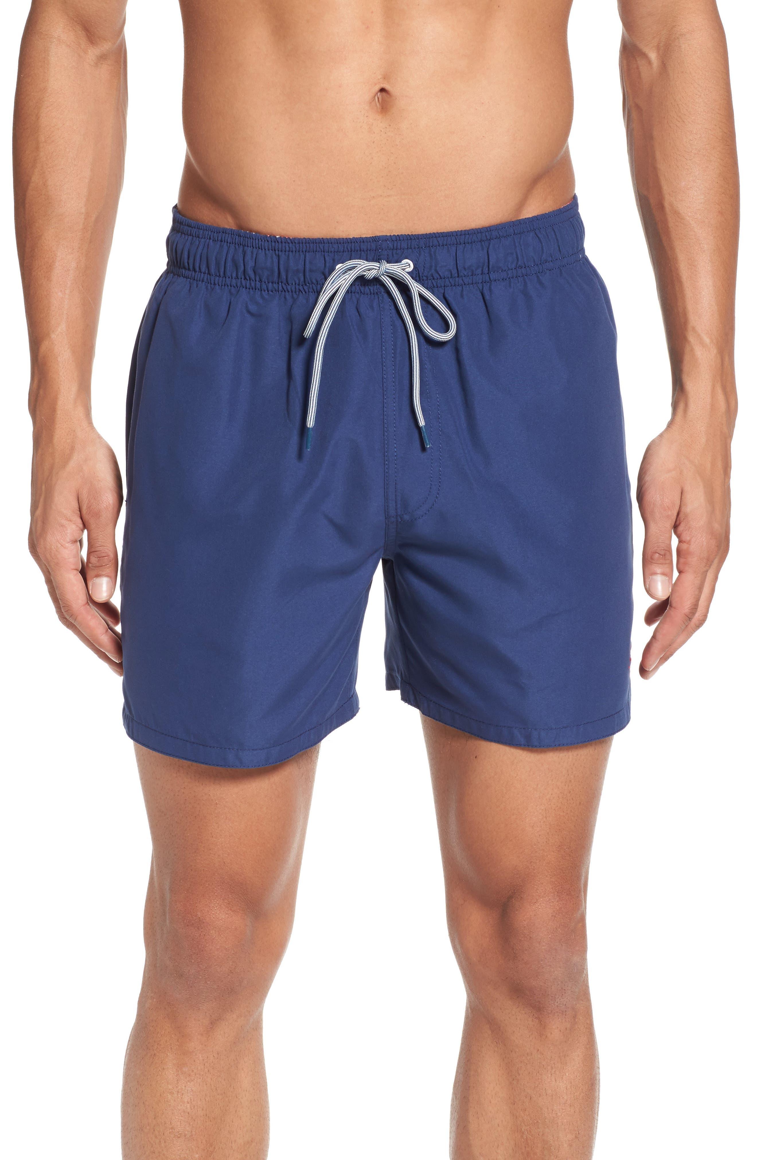 Danbury Swim Shorts,                         Main,                         color, Navy