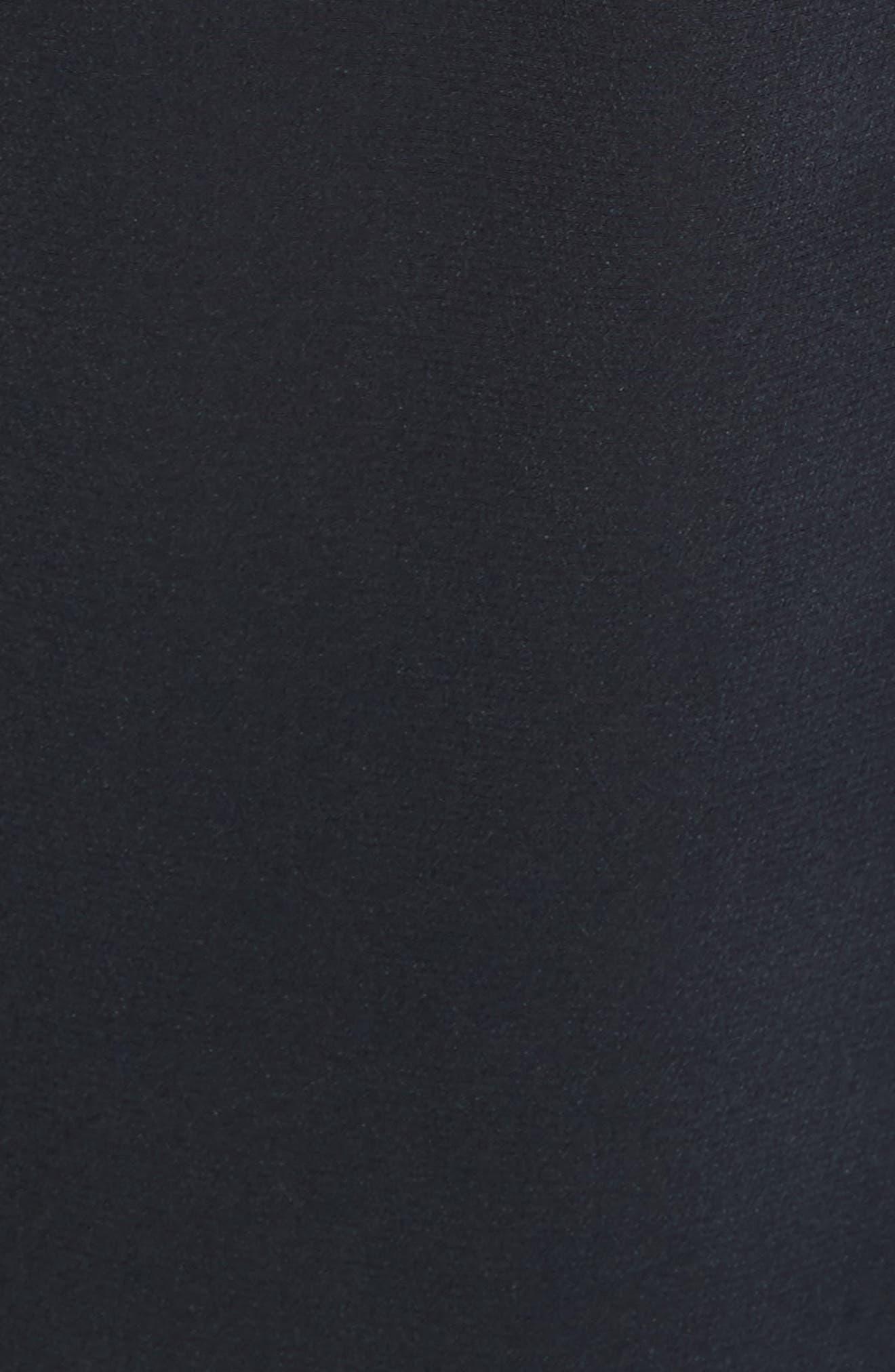 Daphine Bell Cuff Silk Shirt,                             Alternate thumbnail 5, color,                             Eclipse