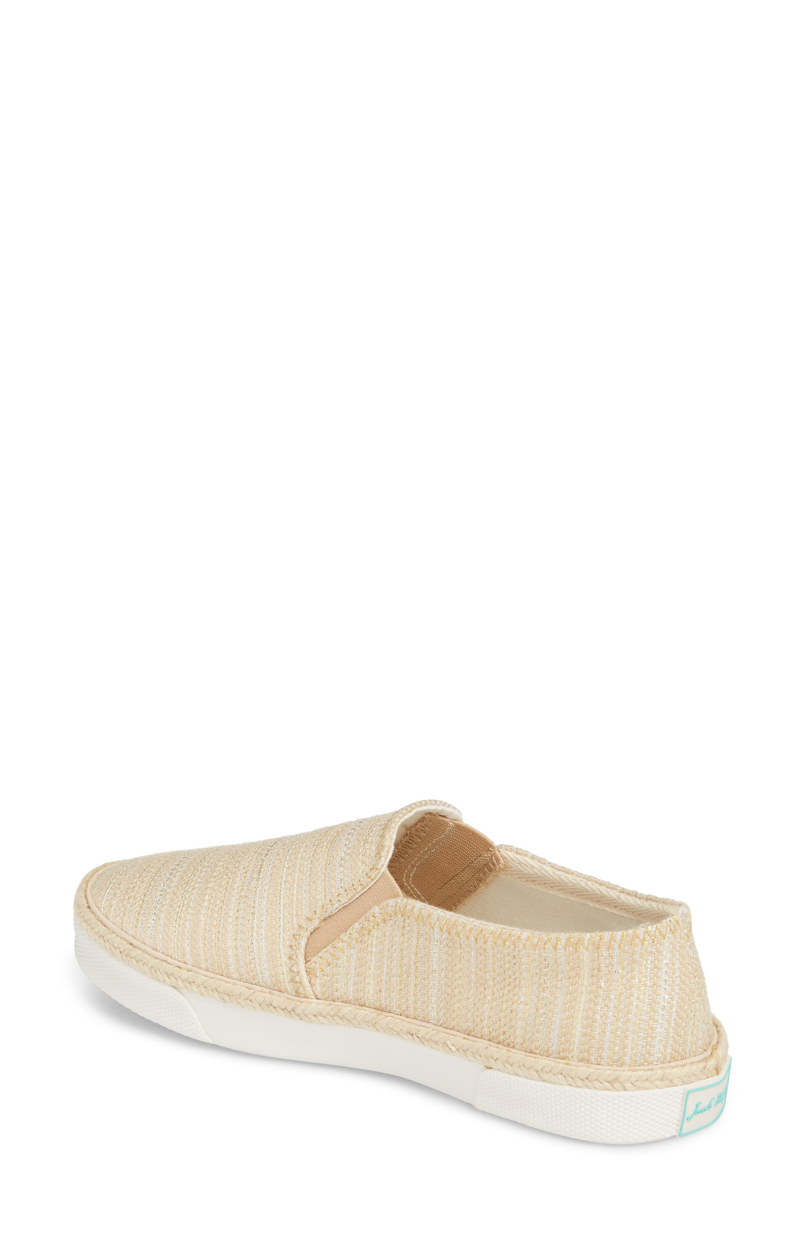 Tucker Slip-On Sneaker,                             Alternate thumbnail 2, color,                             Tan