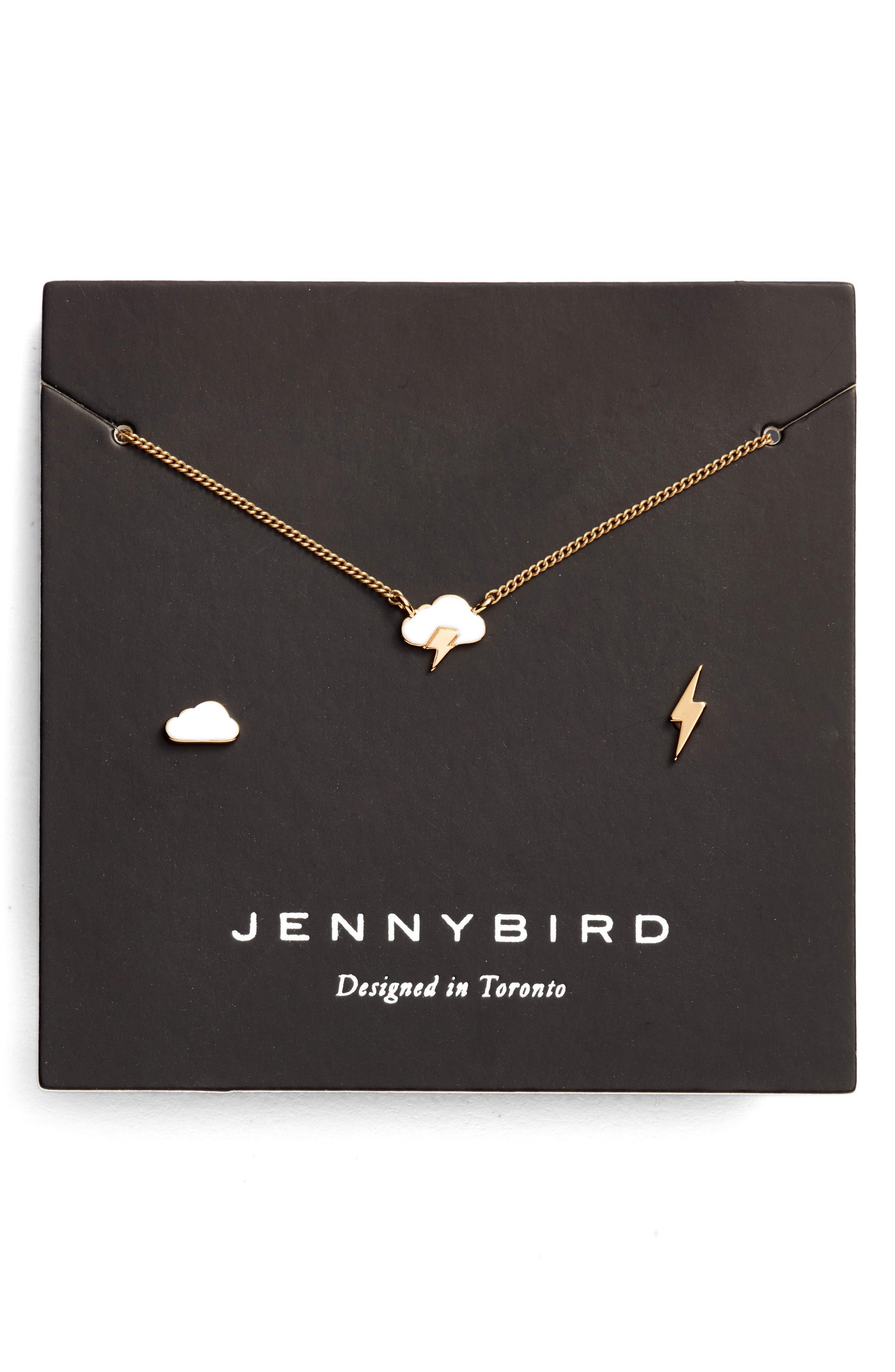 Alternate Image 1 Selected - Jenny Bird Dark & Stormy Necklace Set