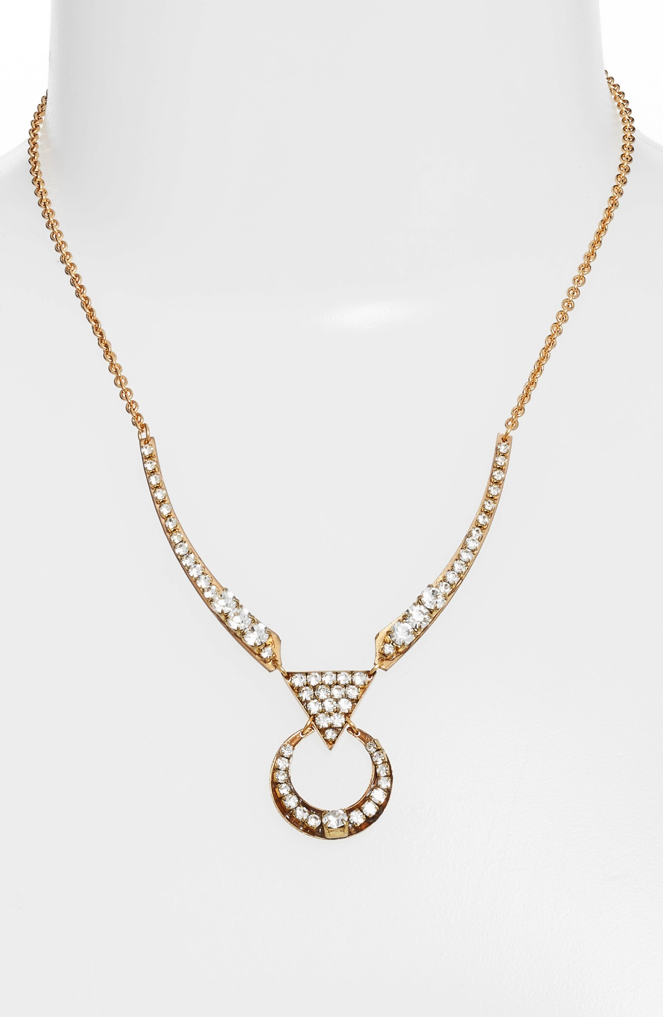 Alternate Image 2  - Sandy Hyun Cutout Crystal Necklace