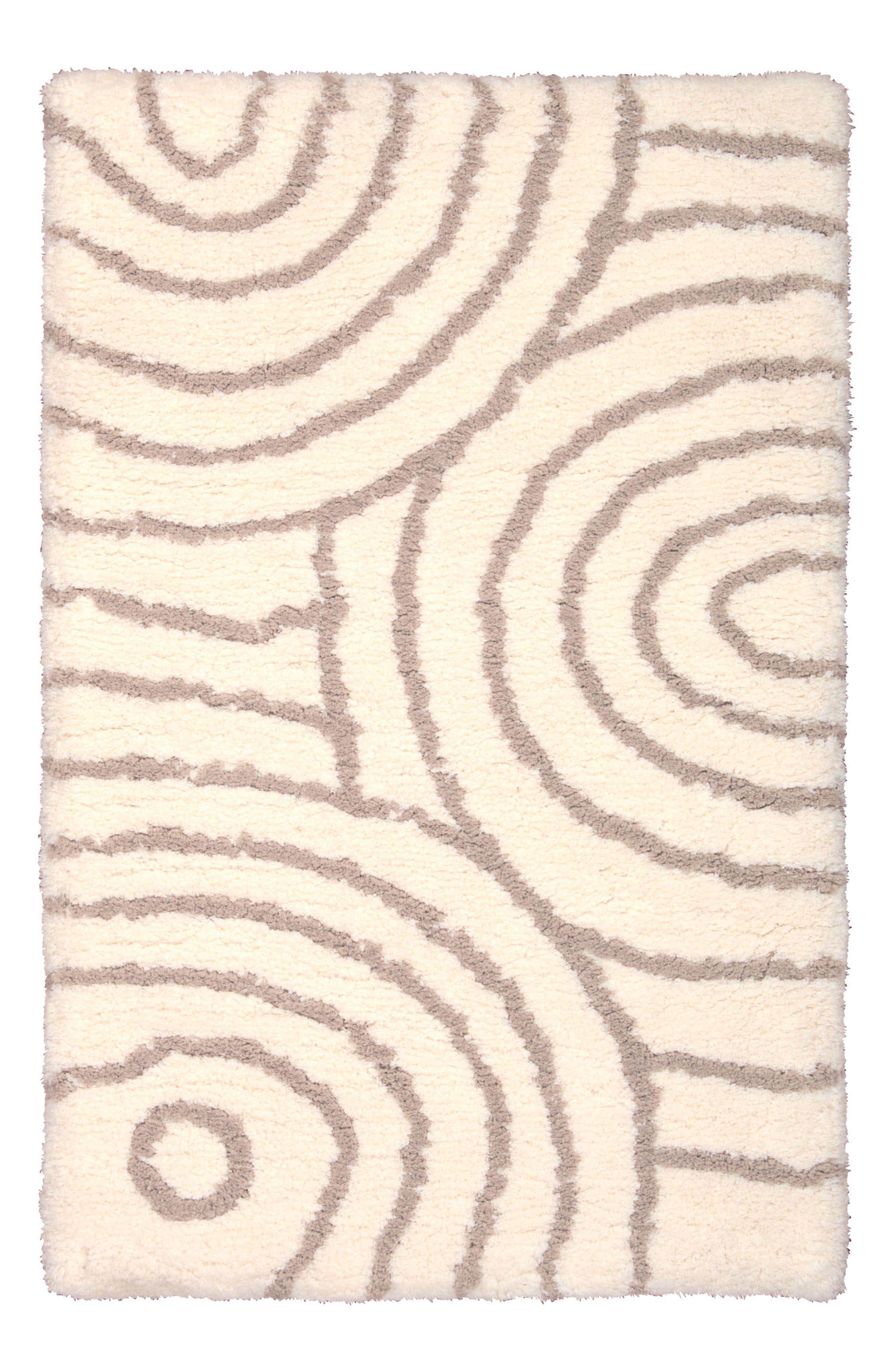 Spiral Rug,                         Main,                         color, Ivory/ Tan