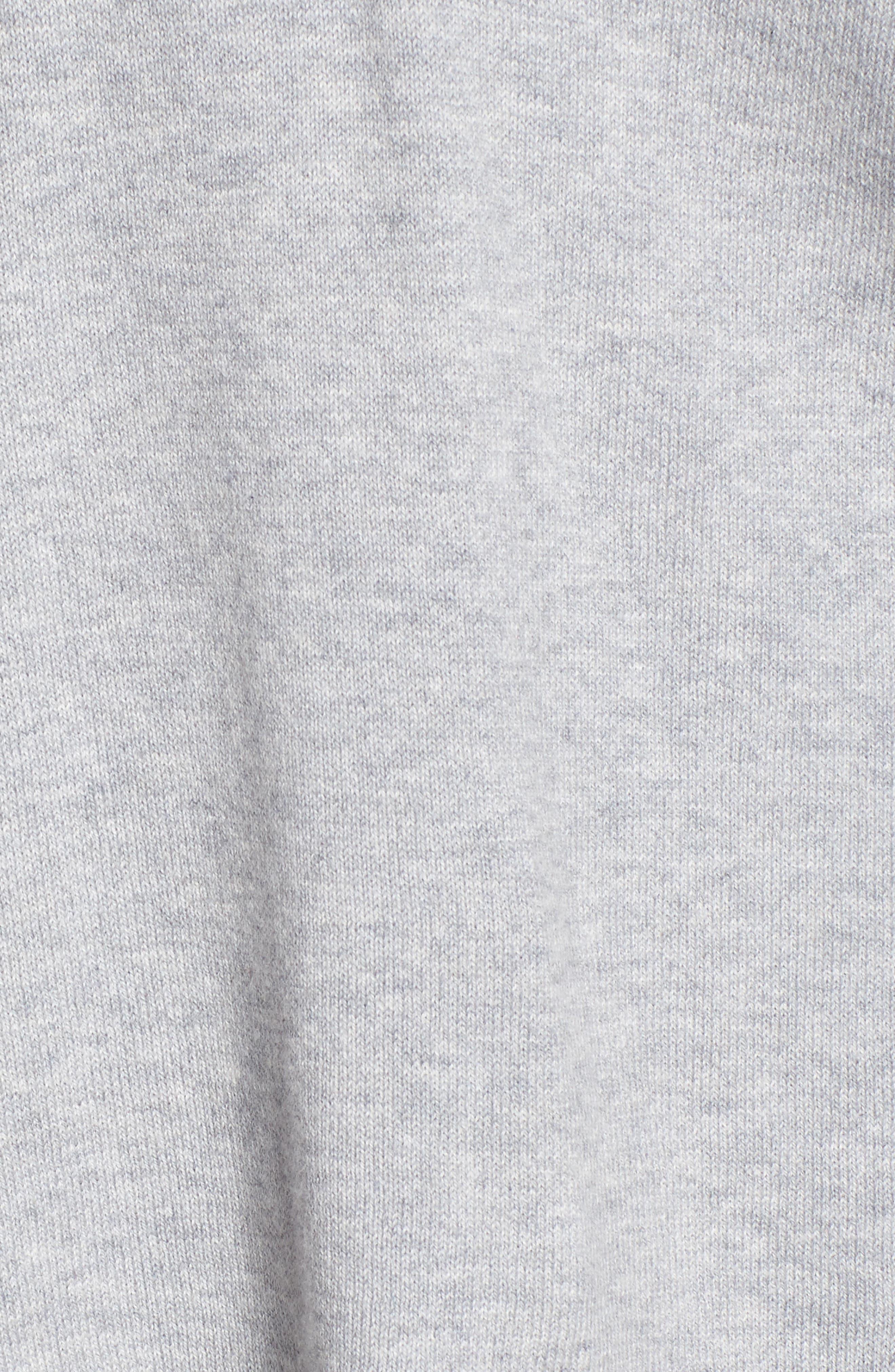 Alternate Image 5  - Eileen Fisher Hooded Organic Cotton Box Sweater