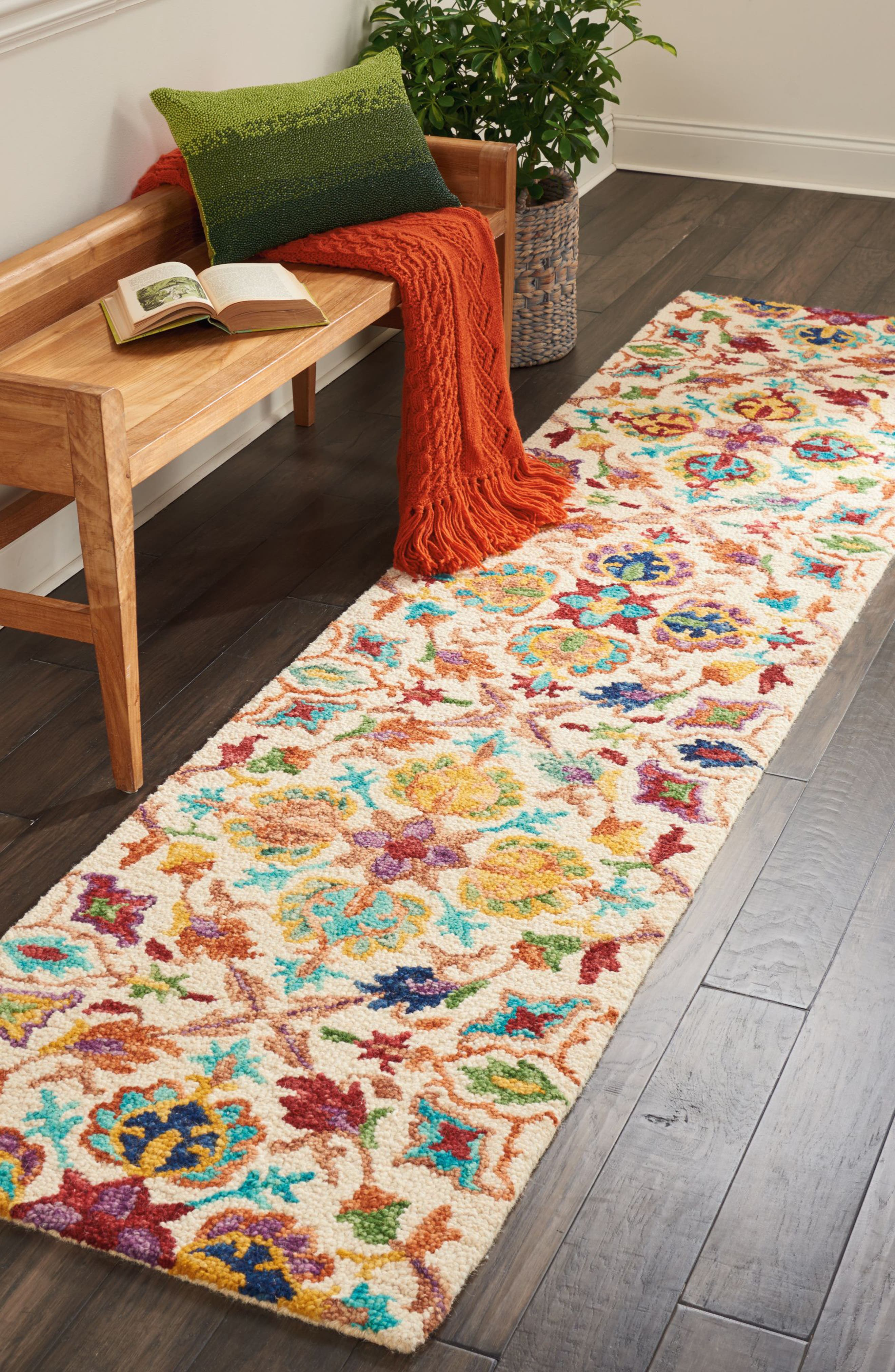 Alternate Image 4  - Nourison Vivid Wool Rug