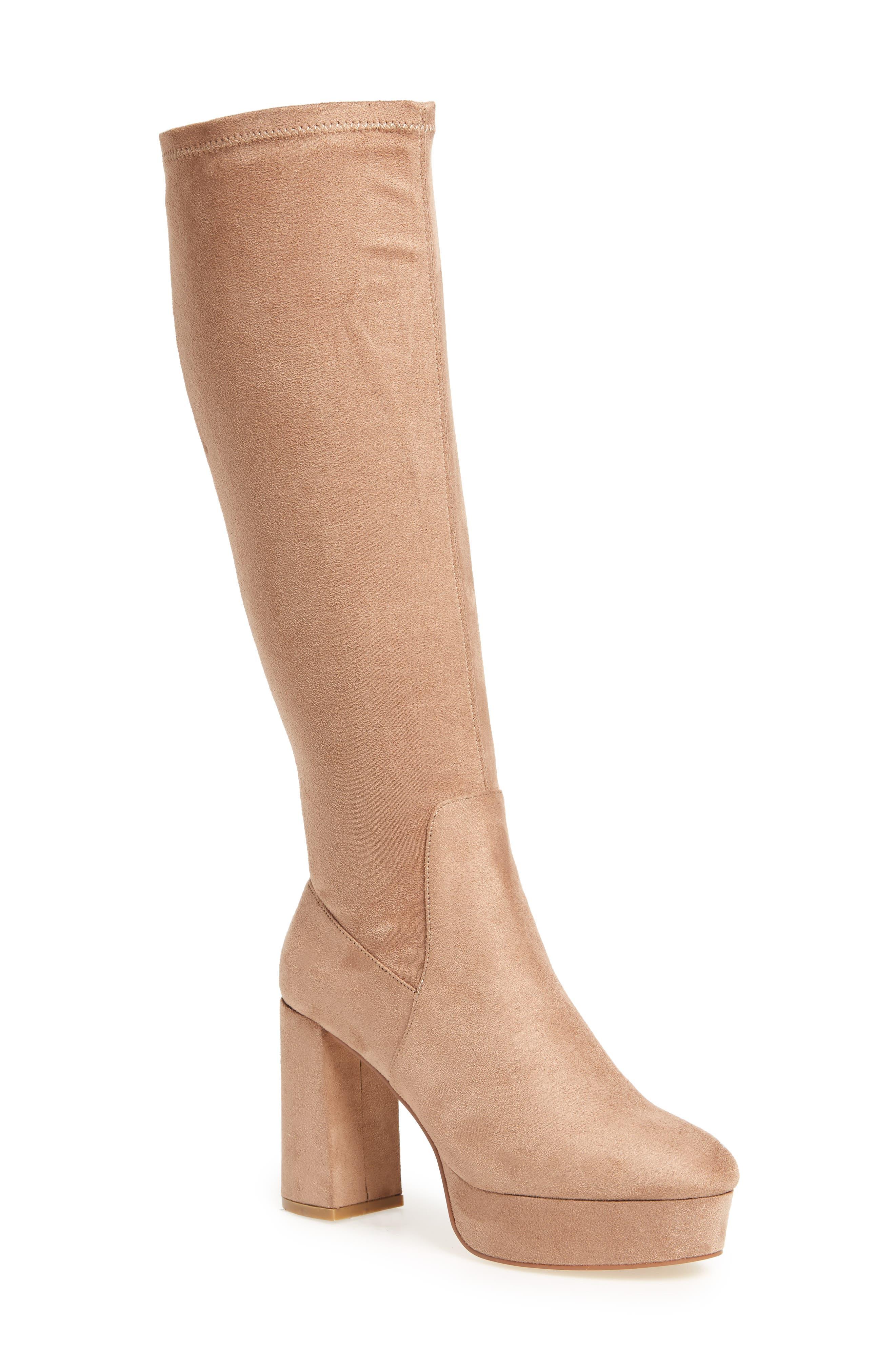 Alternate Image 1 Selected - Chinese Laundry Nancy Knee High Platform Boot (Women)