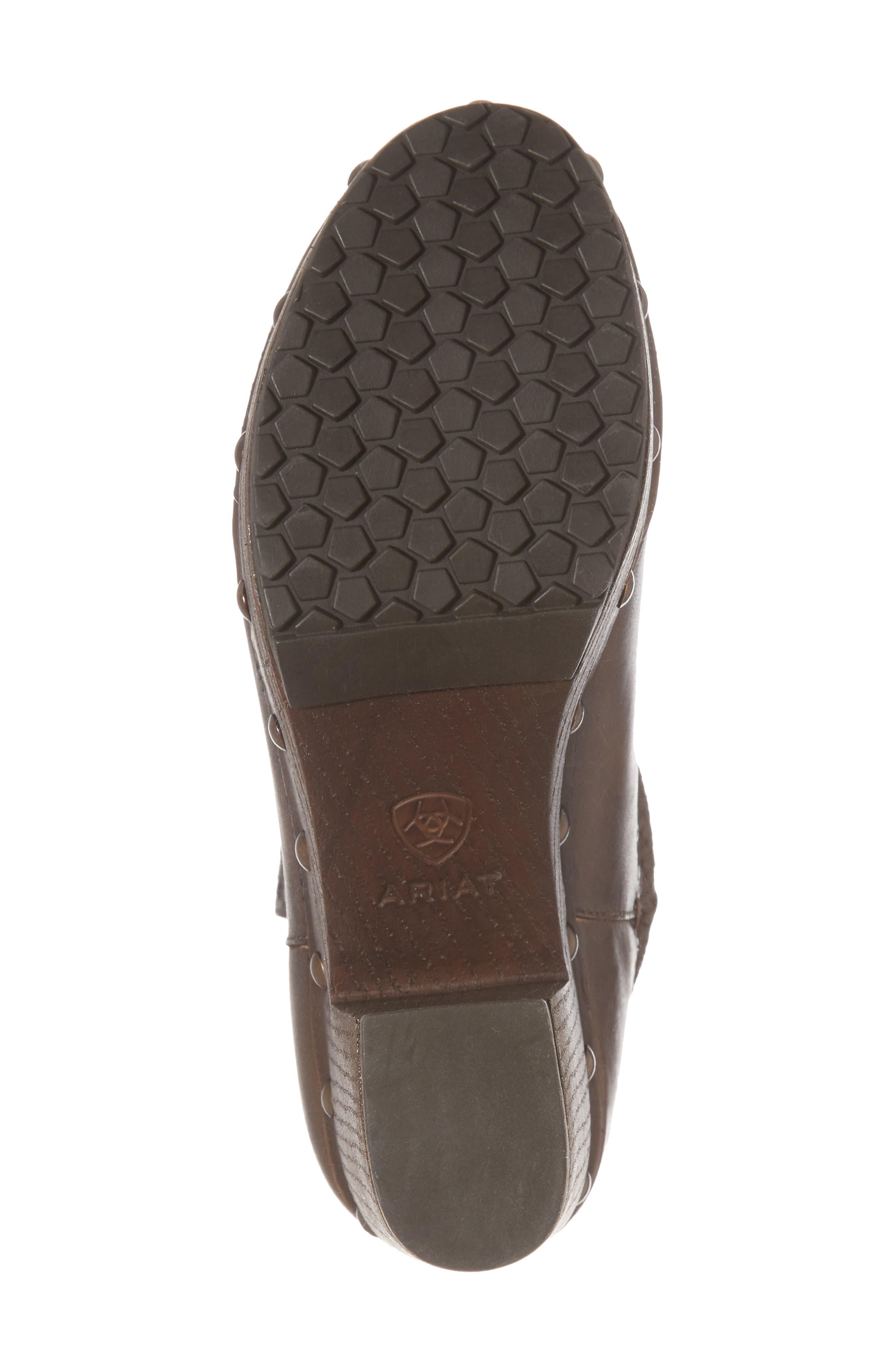 Memphis Platform Boot,                             Alternate thumbnail 6, color,                             Distressed Brown Leather