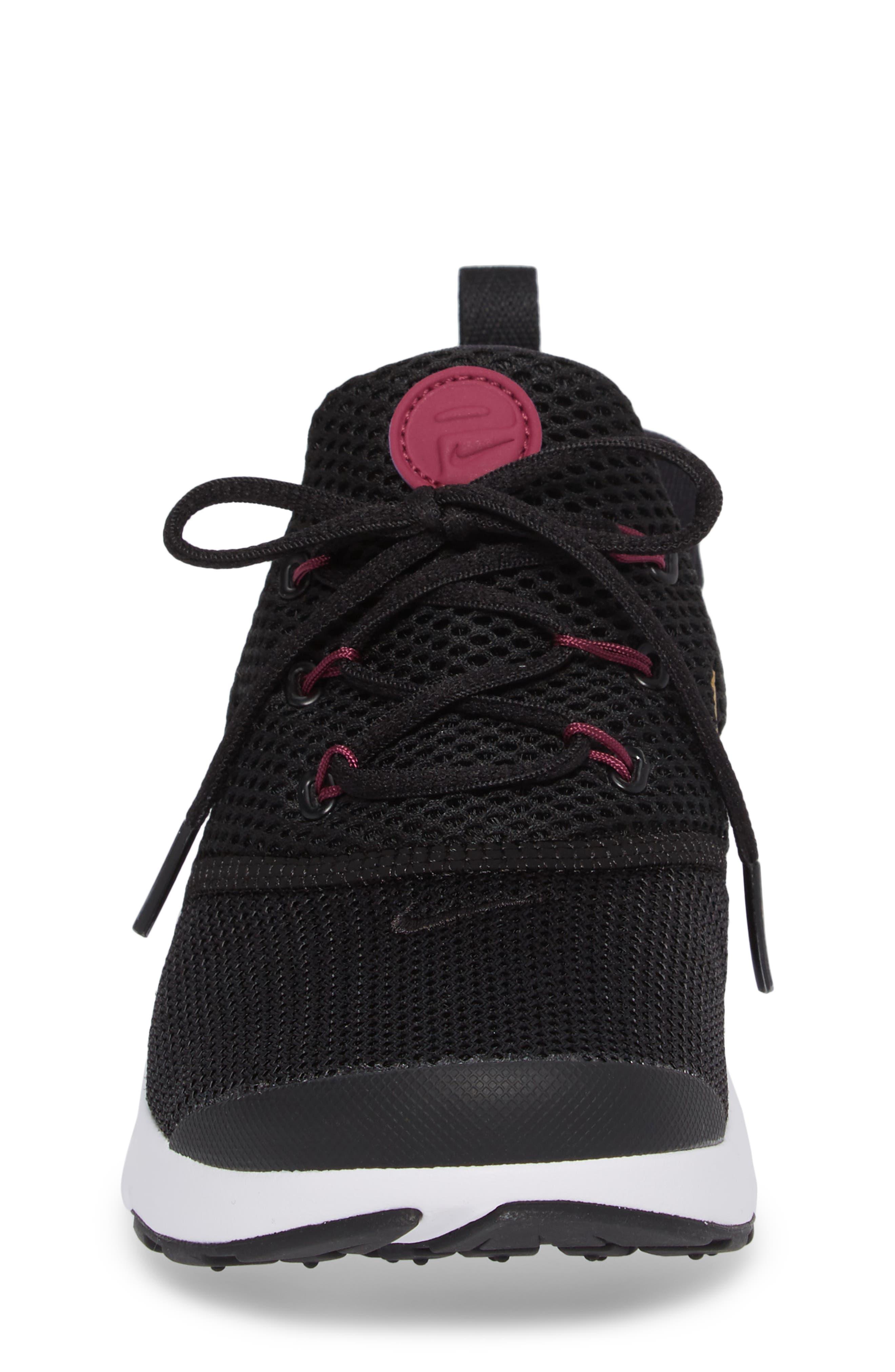 Presto Fly PS Sneaker,                             Alternate thumbnail 4, color,                             Black/ Gold
