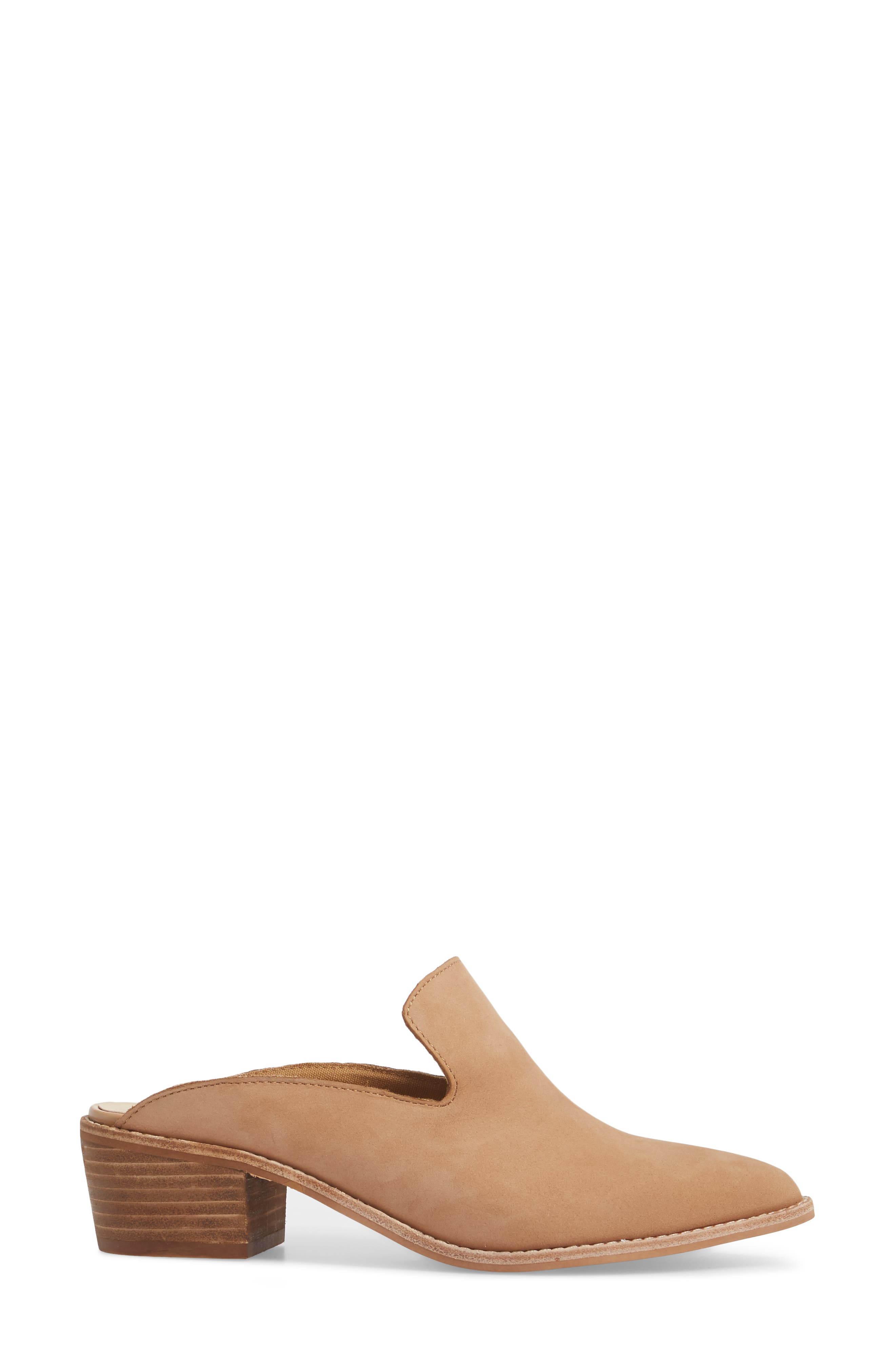 Marnie Loafer Mule,                             Alternate thumbnail 3, color,                             Natural