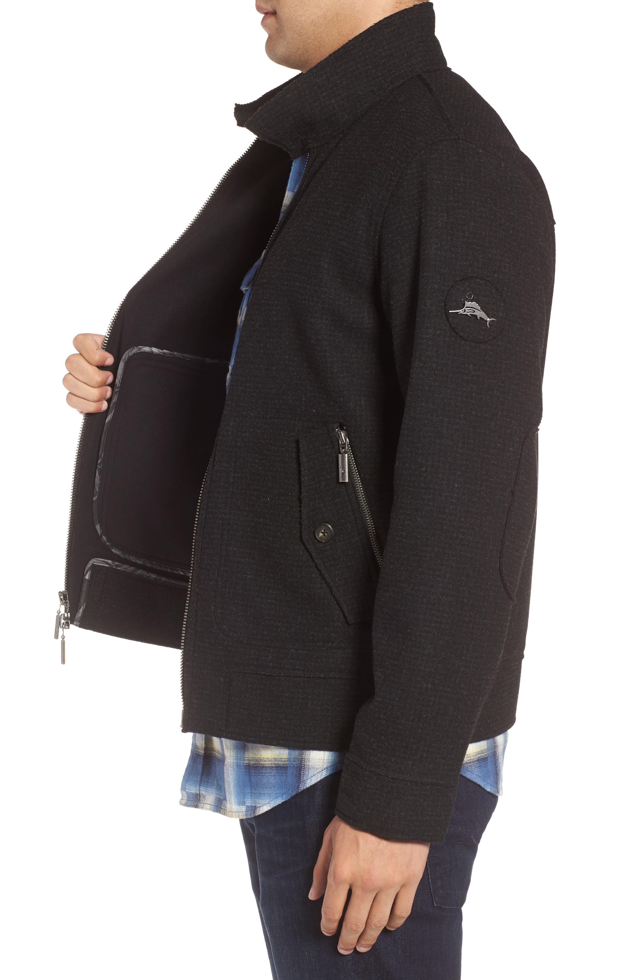 Alternate Image 3  - Tommy Bahama Bonded Bomber Jacket