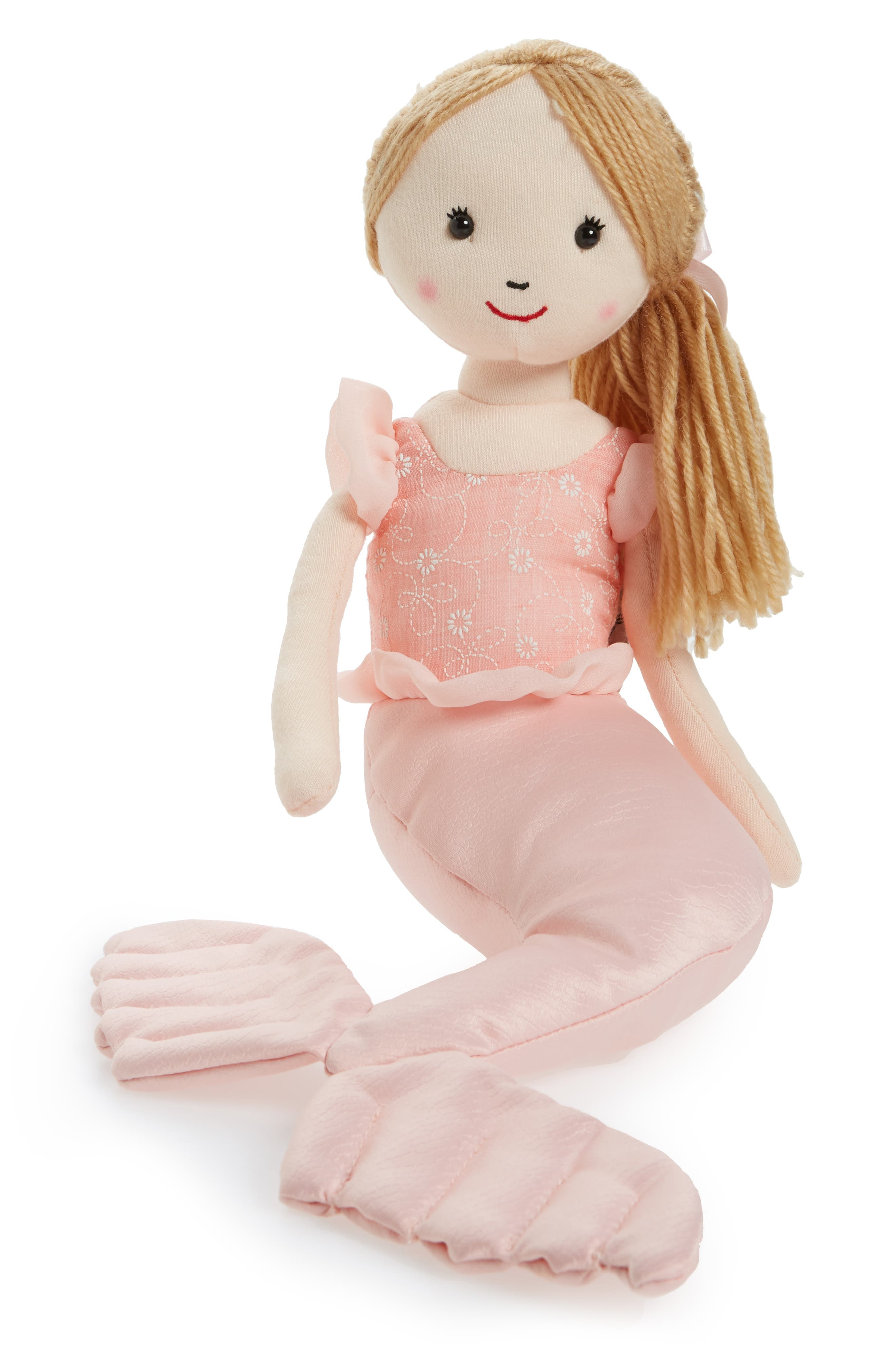 Shellbelle - Mermaid Millie Stuffed Toy,                         Main,                         color, Pink