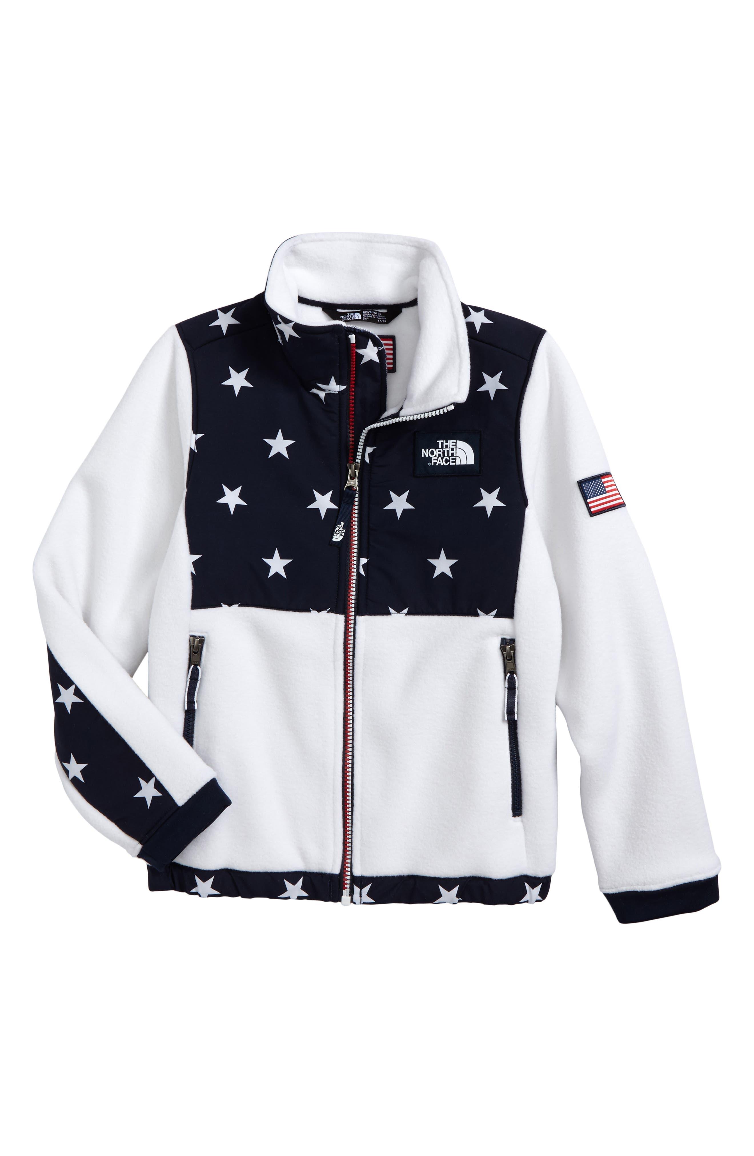 Denali Recycled Fleece Jacket,                         Main,                         color, Tnf White