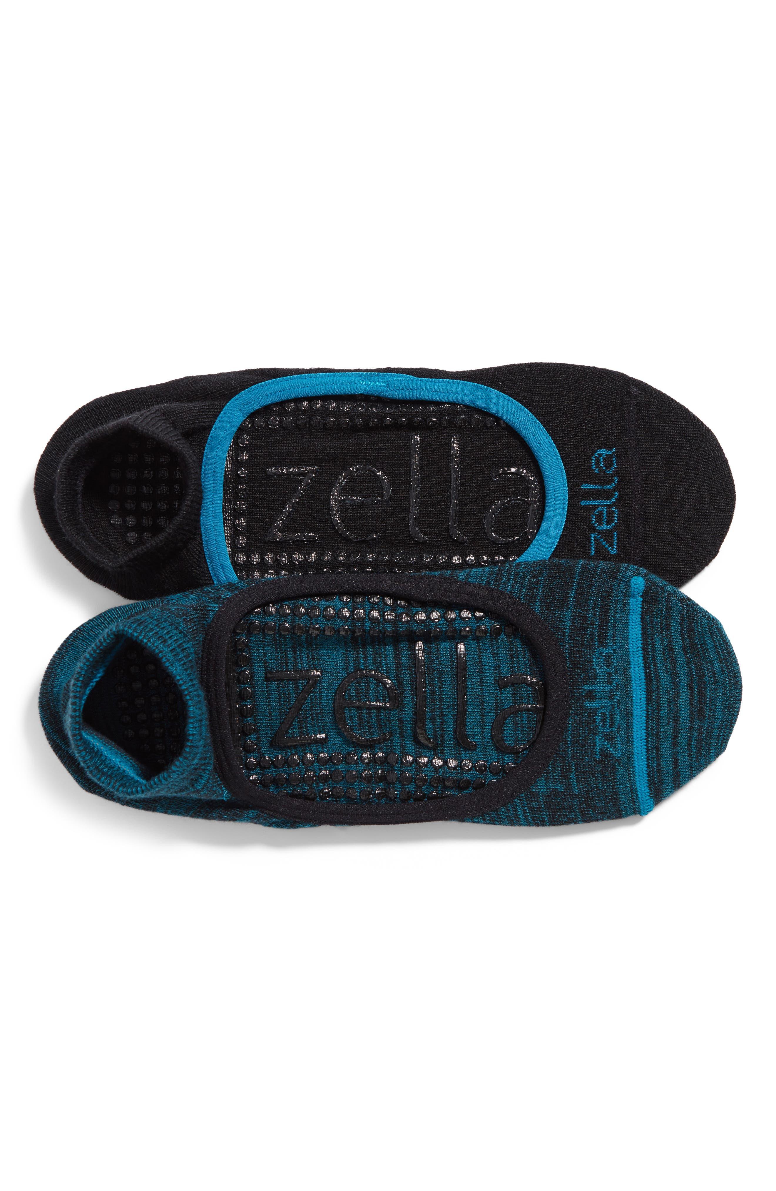 Alternate Image 1 Selected - Zella Studio 2-Pack Socks