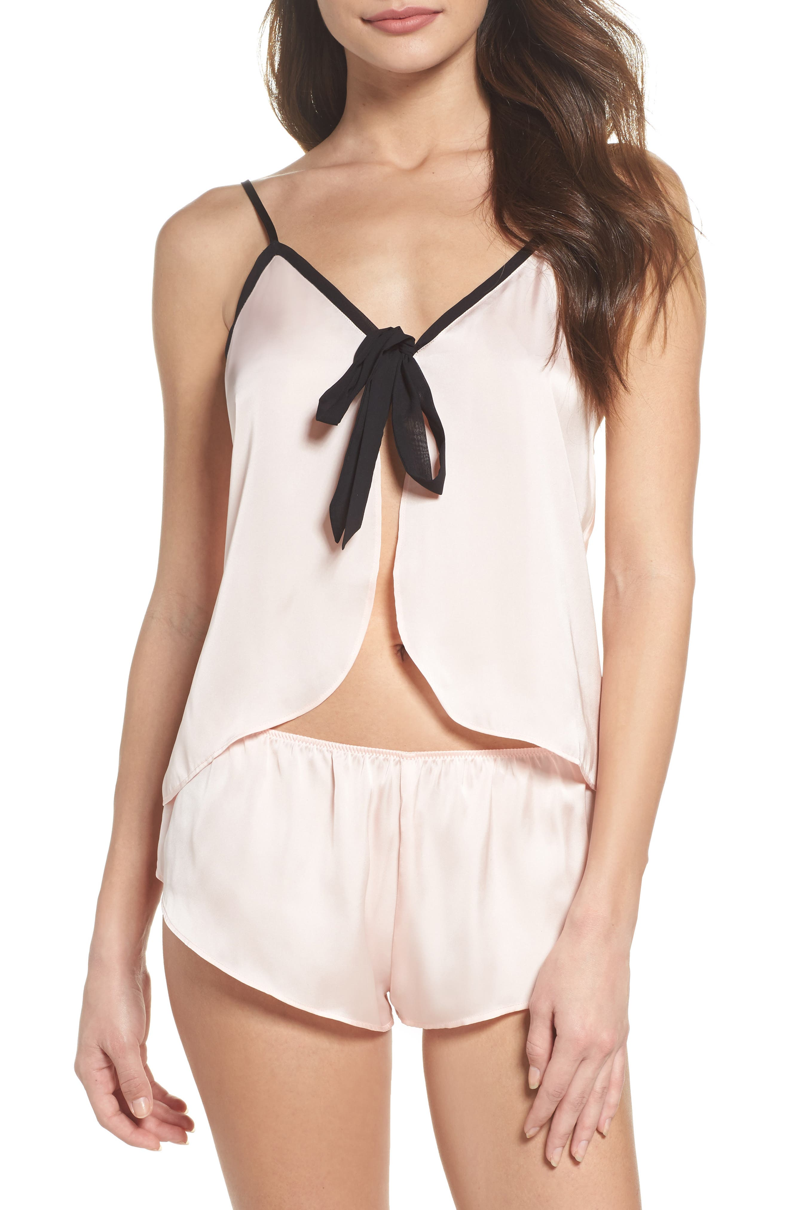 Love Notes Pajamas,                         Main,                         color, Pink Beach