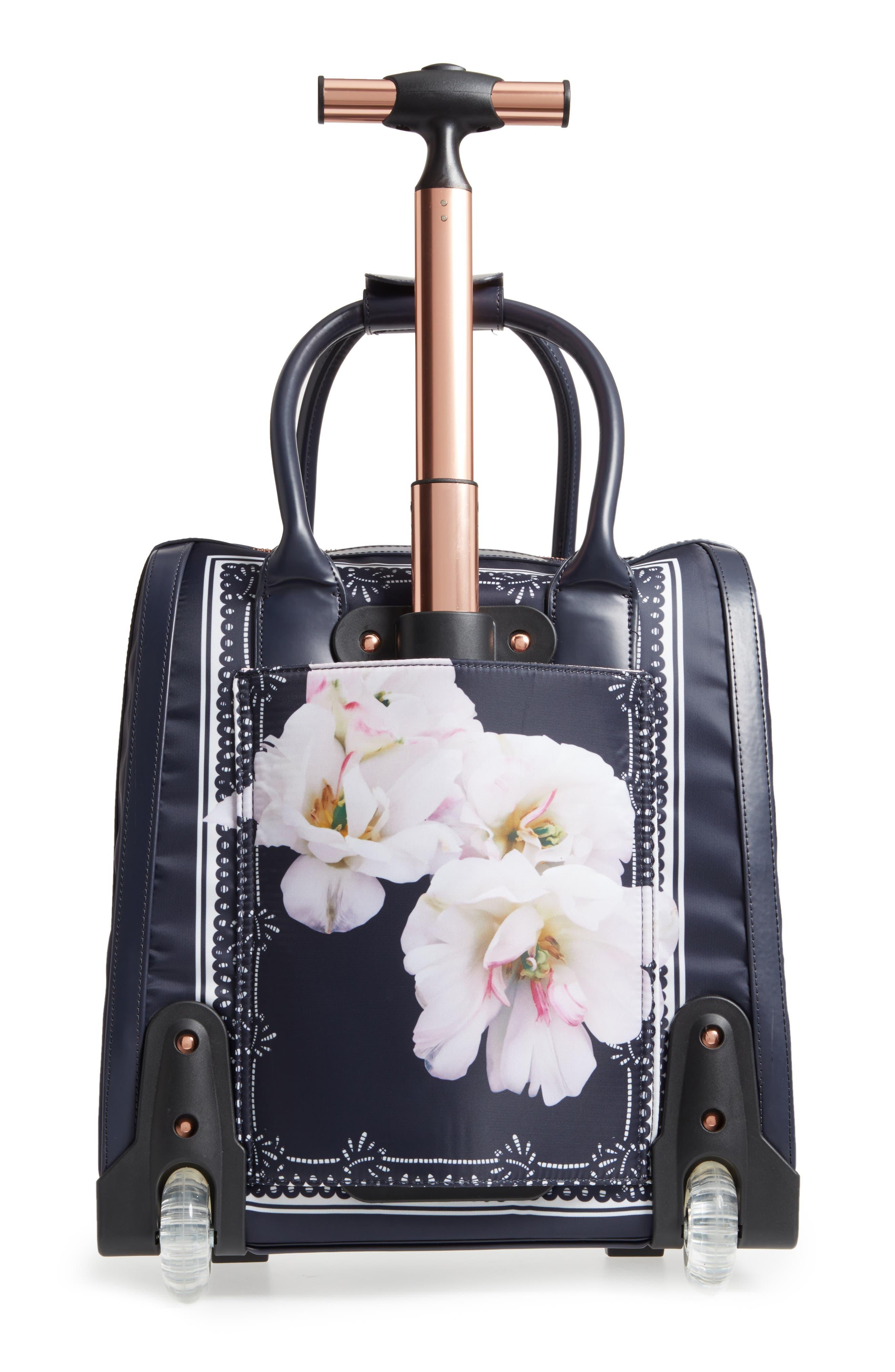 Keturah Gardenia Travel Bag,                             Alternate thumbnail 2, color,                             Dark Blue