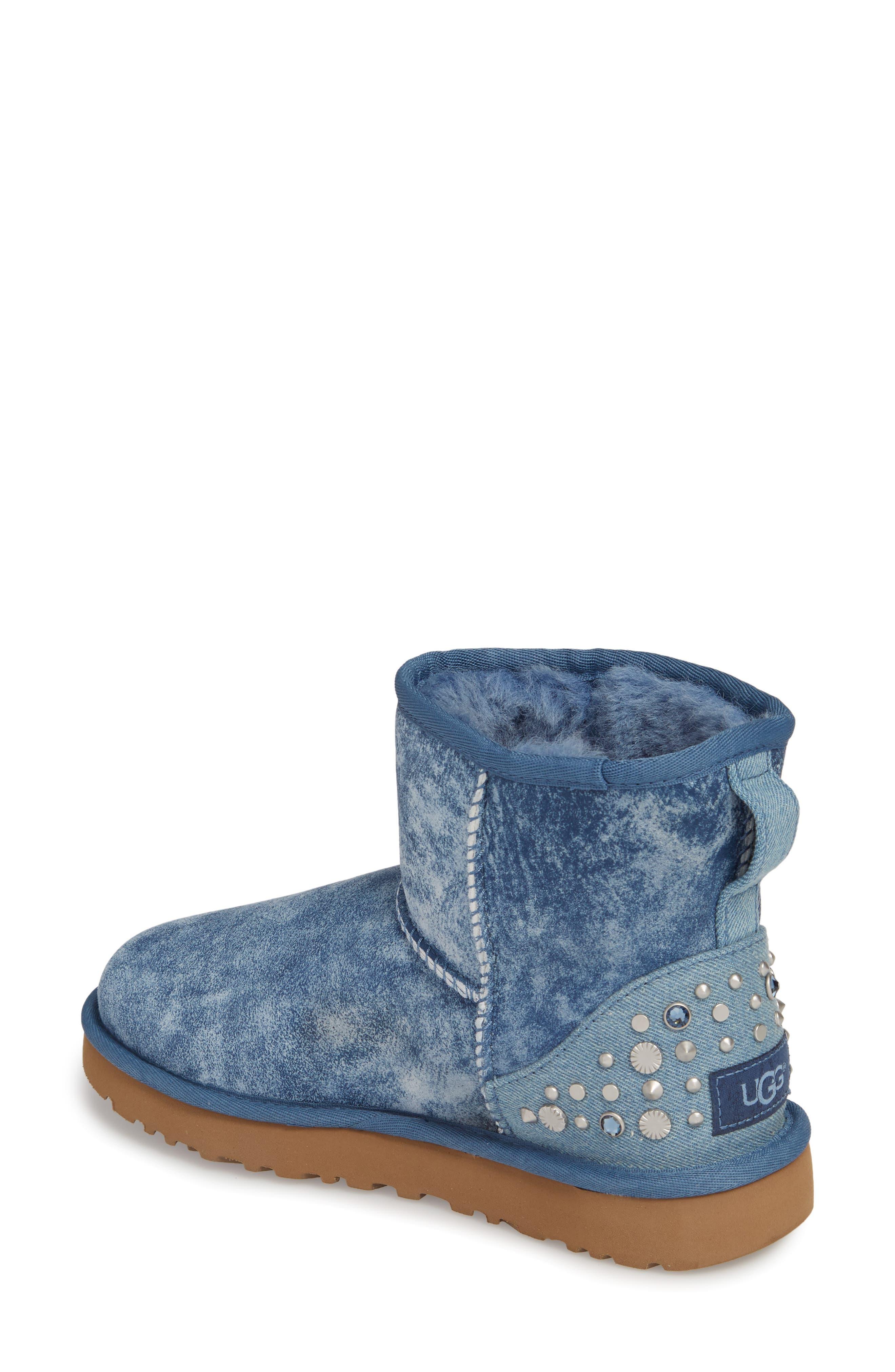 Alternate Image 2  - UGG® Mini Studded Bling Boot (Women)