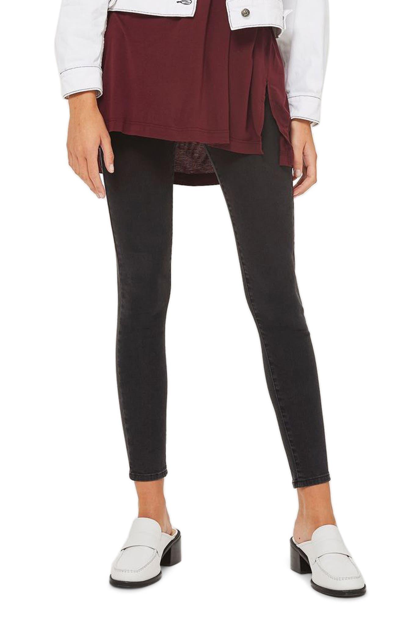 Sidney Skinny Jeans,                         Main,                         color, Washed Black
