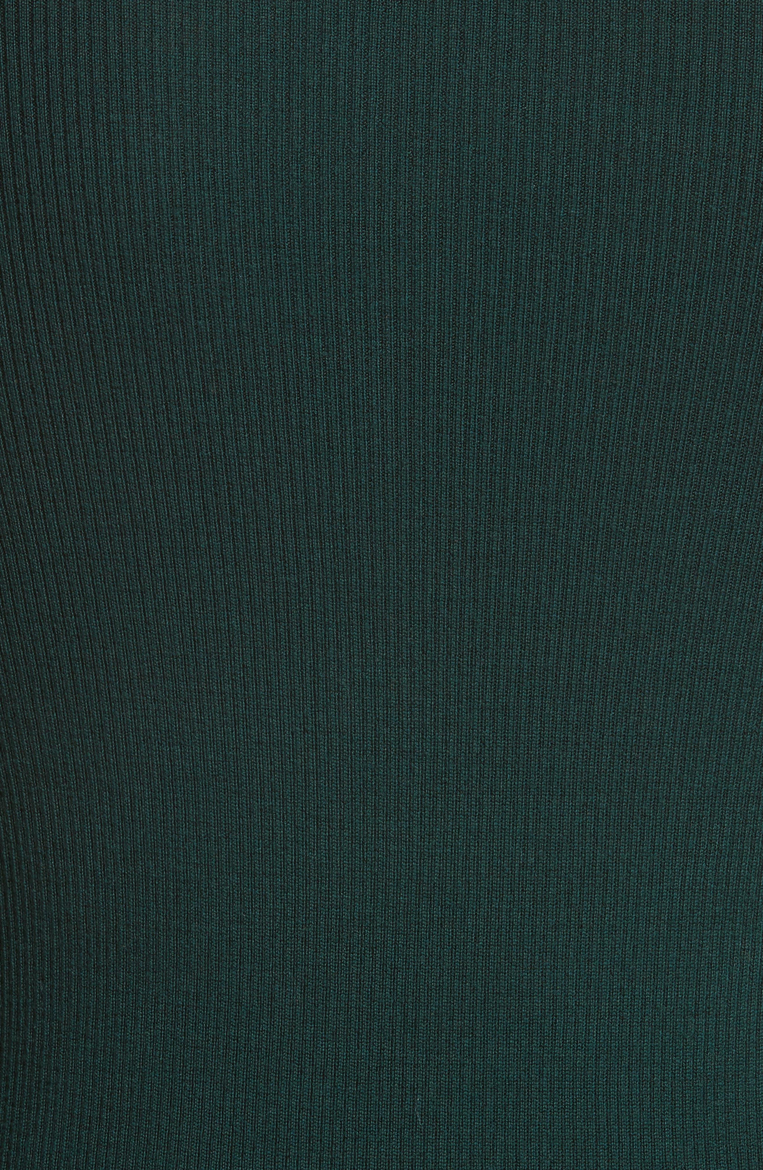 Alternate Image 5  - Theory Mirzi Ribbed Sweater