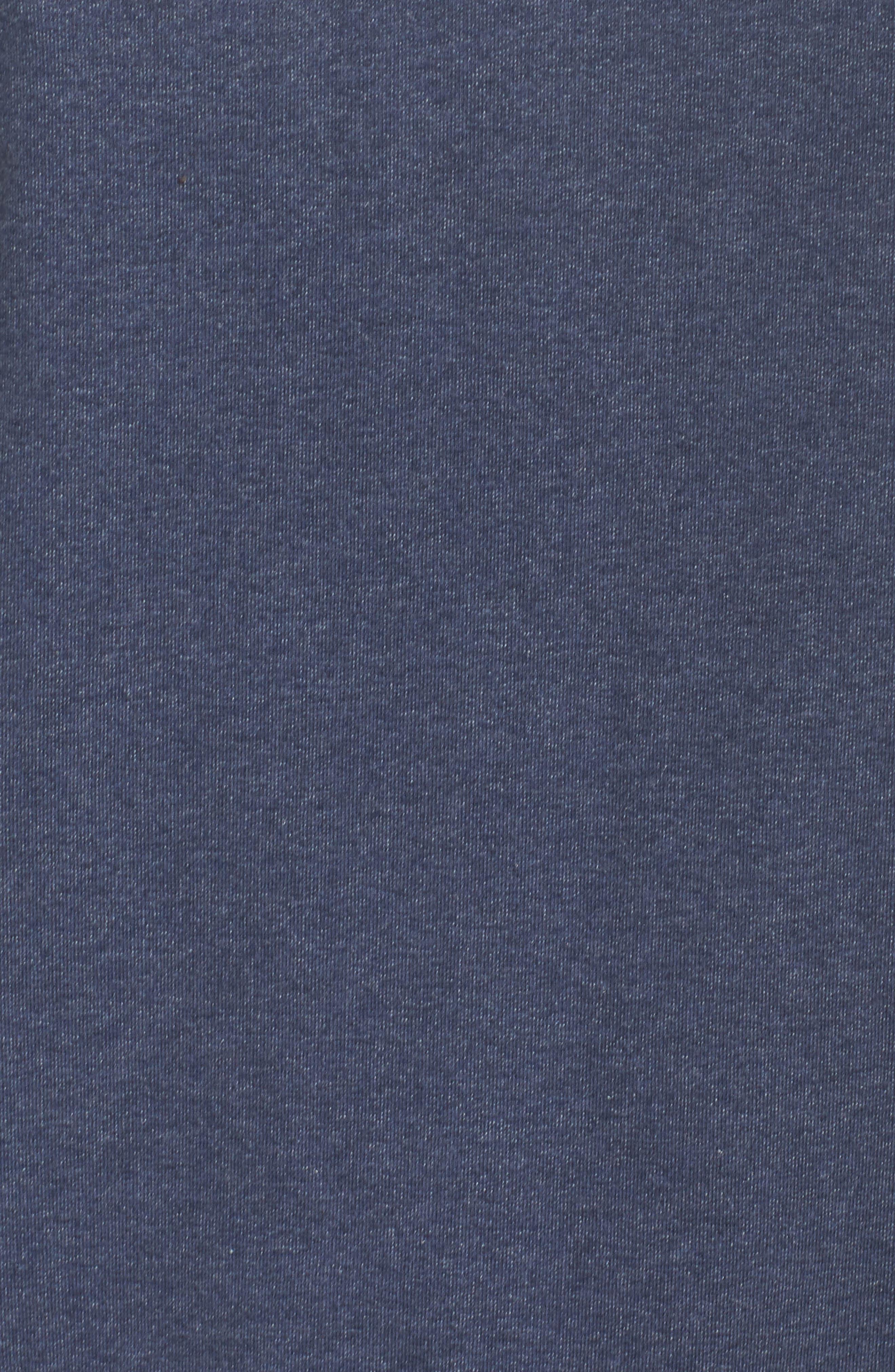 Pastel P-6 Label Midweight Sweatshirt,                             Alternate thumbnail 6, color,                             Classic Navy