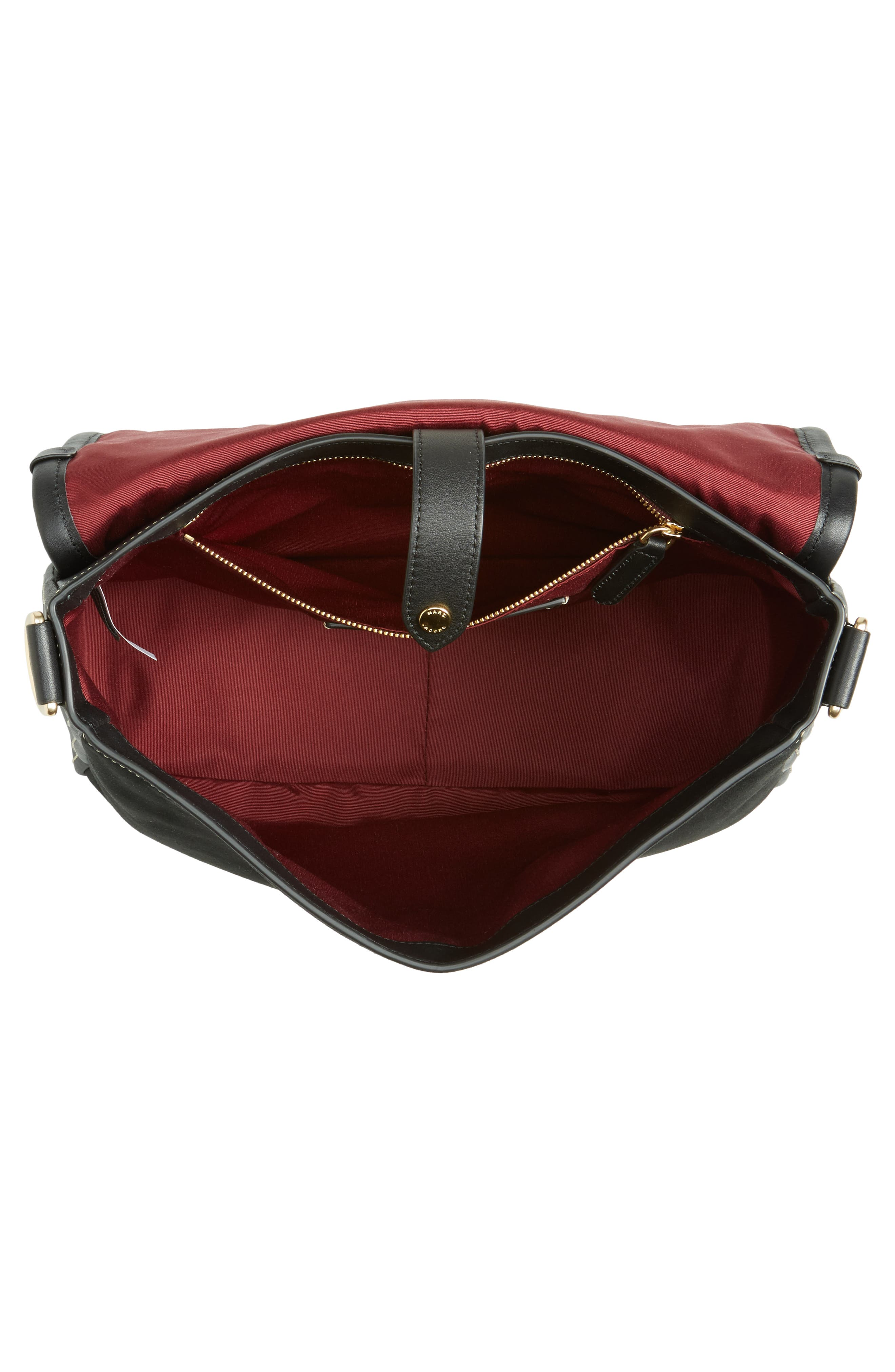 Alternate Image 4  - MARC JACOBS The Squeeze Suede Shoulder Bag