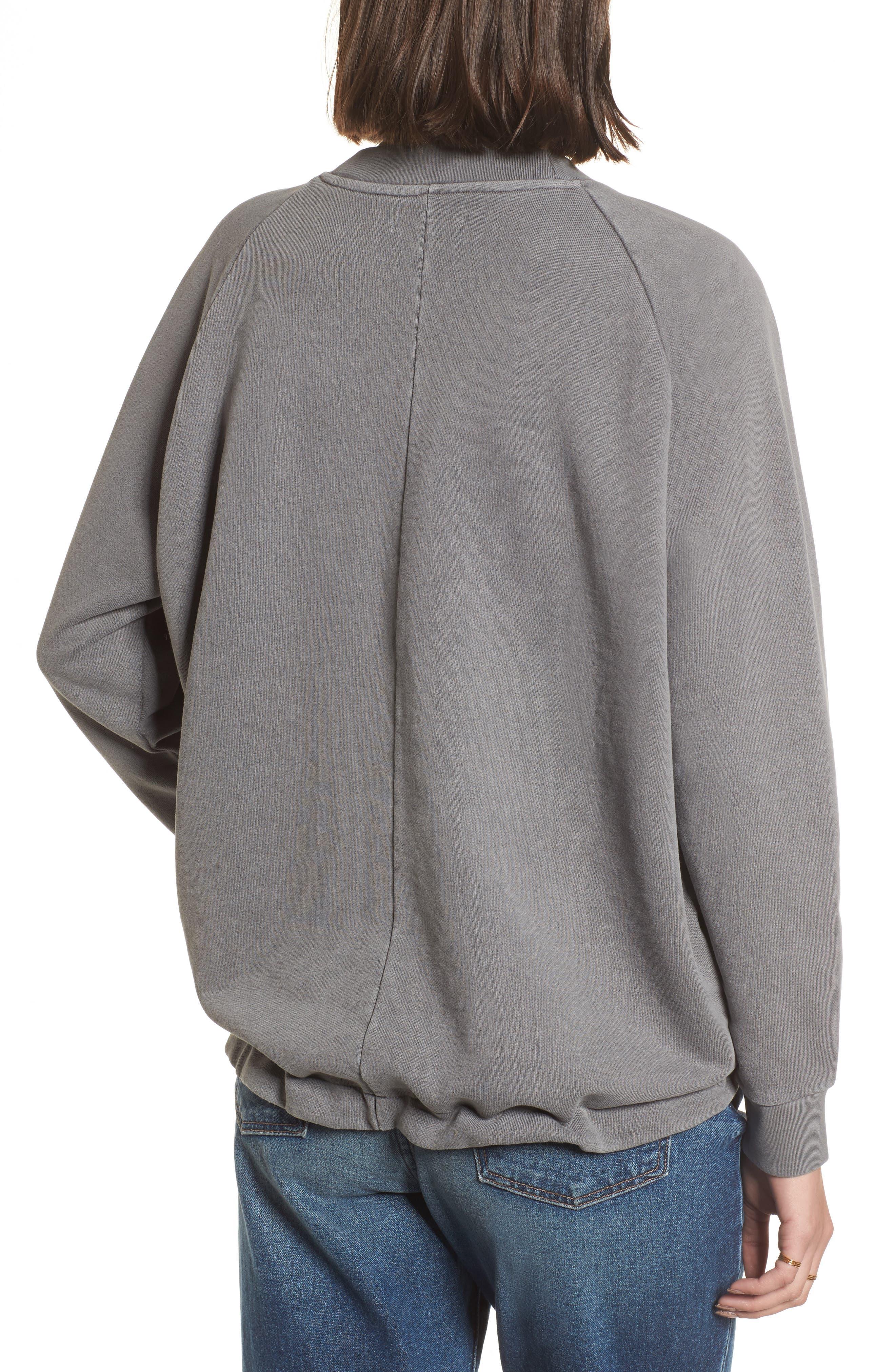 Drawstring Sweatshirt,                             Alternate thumbnail 2, color,                             Walrus
