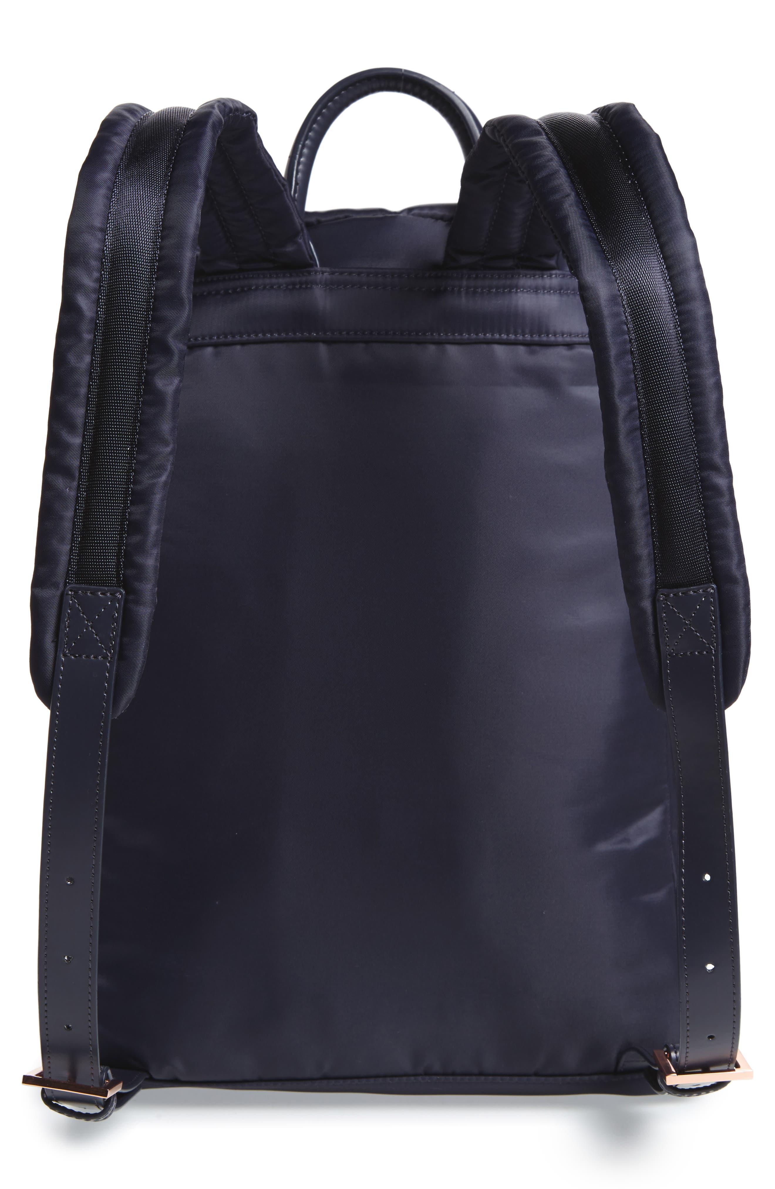 Kayleey Gardenia Backpack,                             Alternate thumbnail 3, color,                             Dark Blue