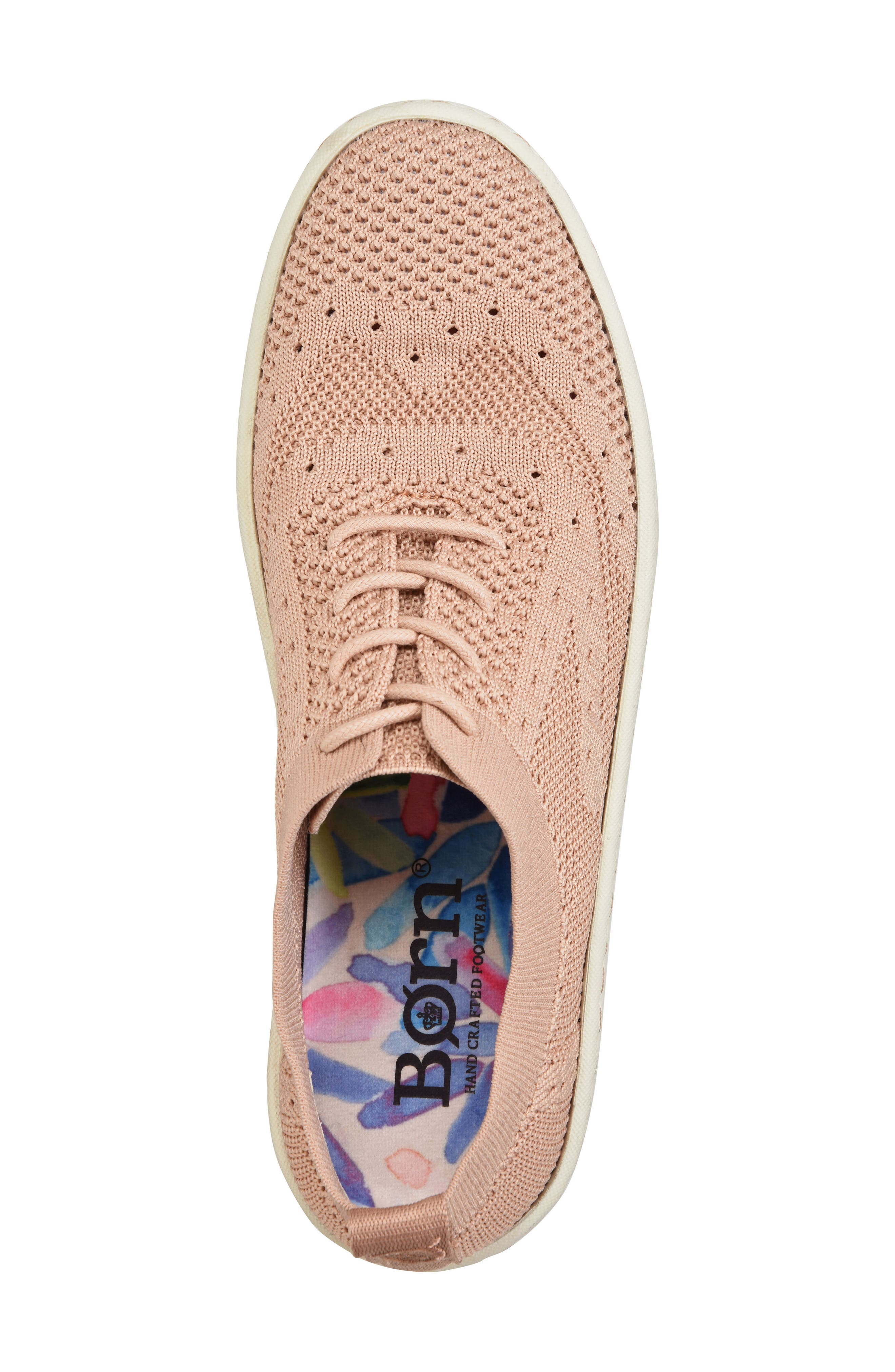 Alternate Image 5  - Børn Sunburst Wingtip Sneaker (Women)