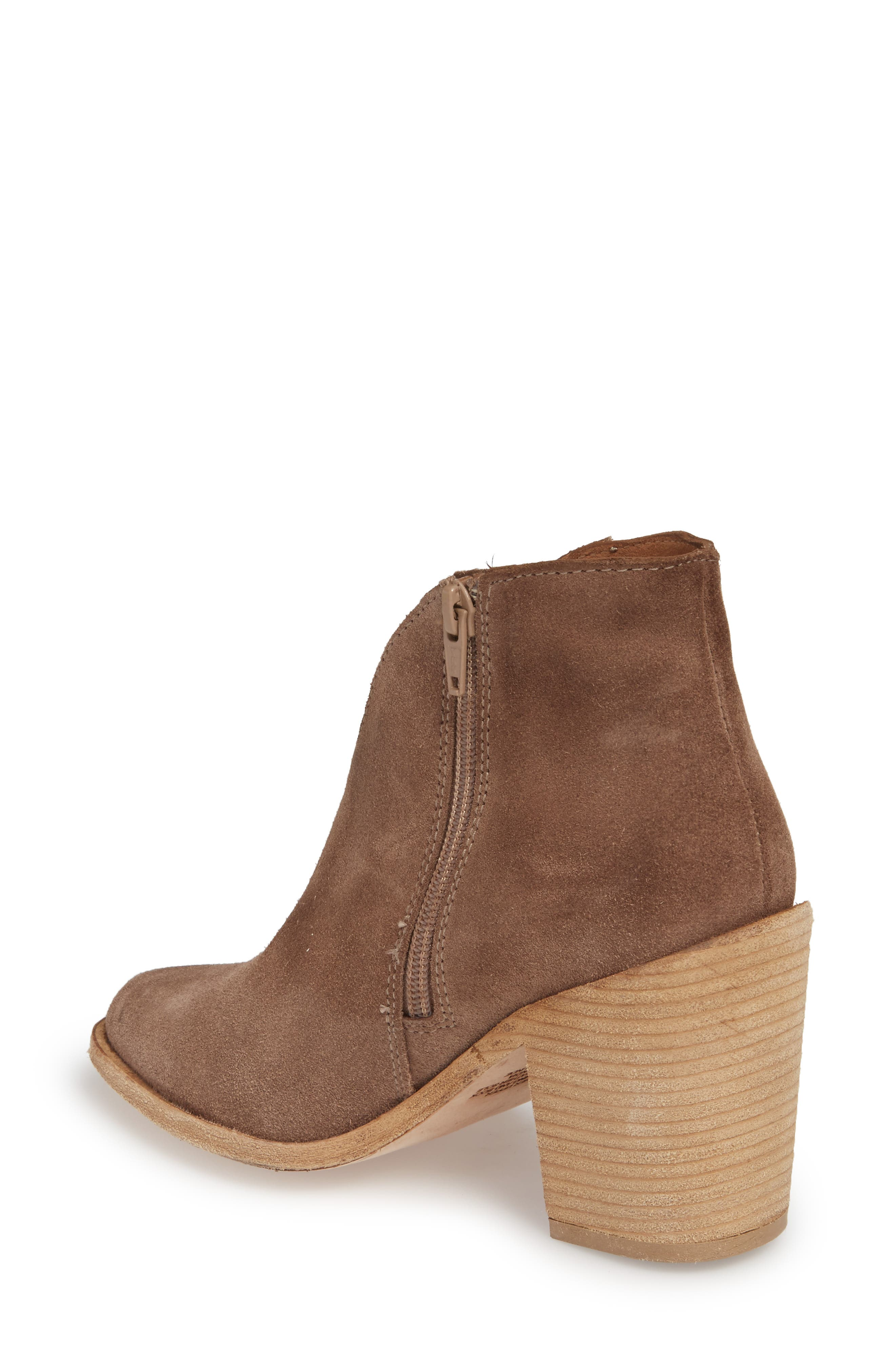 Kamet Bootie,                             Alternate thumbnail 2, color,                             Taupe Oiled Suede