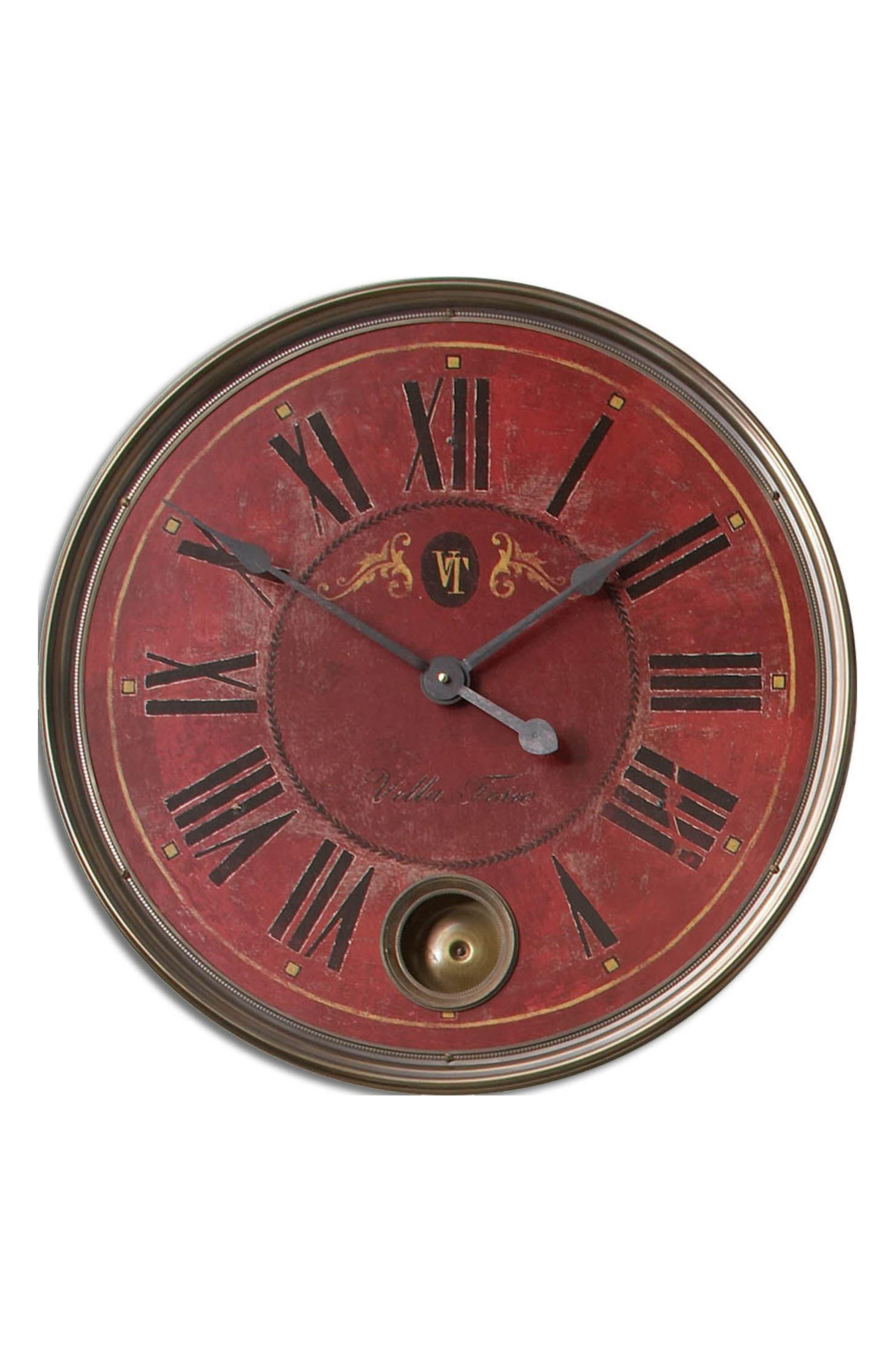 Alternate Image 1 Selected - Uttermost Regency Villa Wall Clock