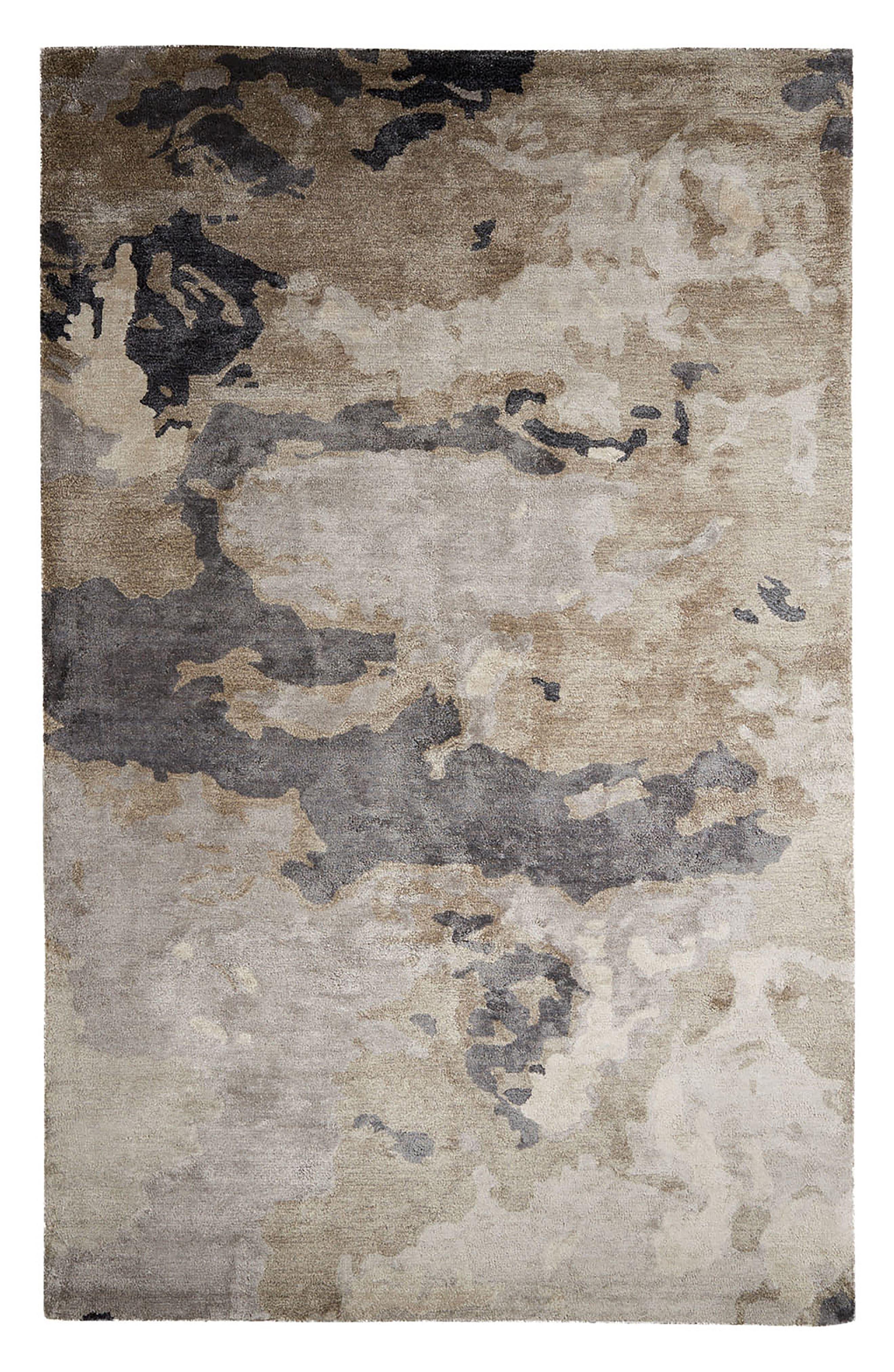 Glacier Rug,                         Main,                         color, Pumice Stone
