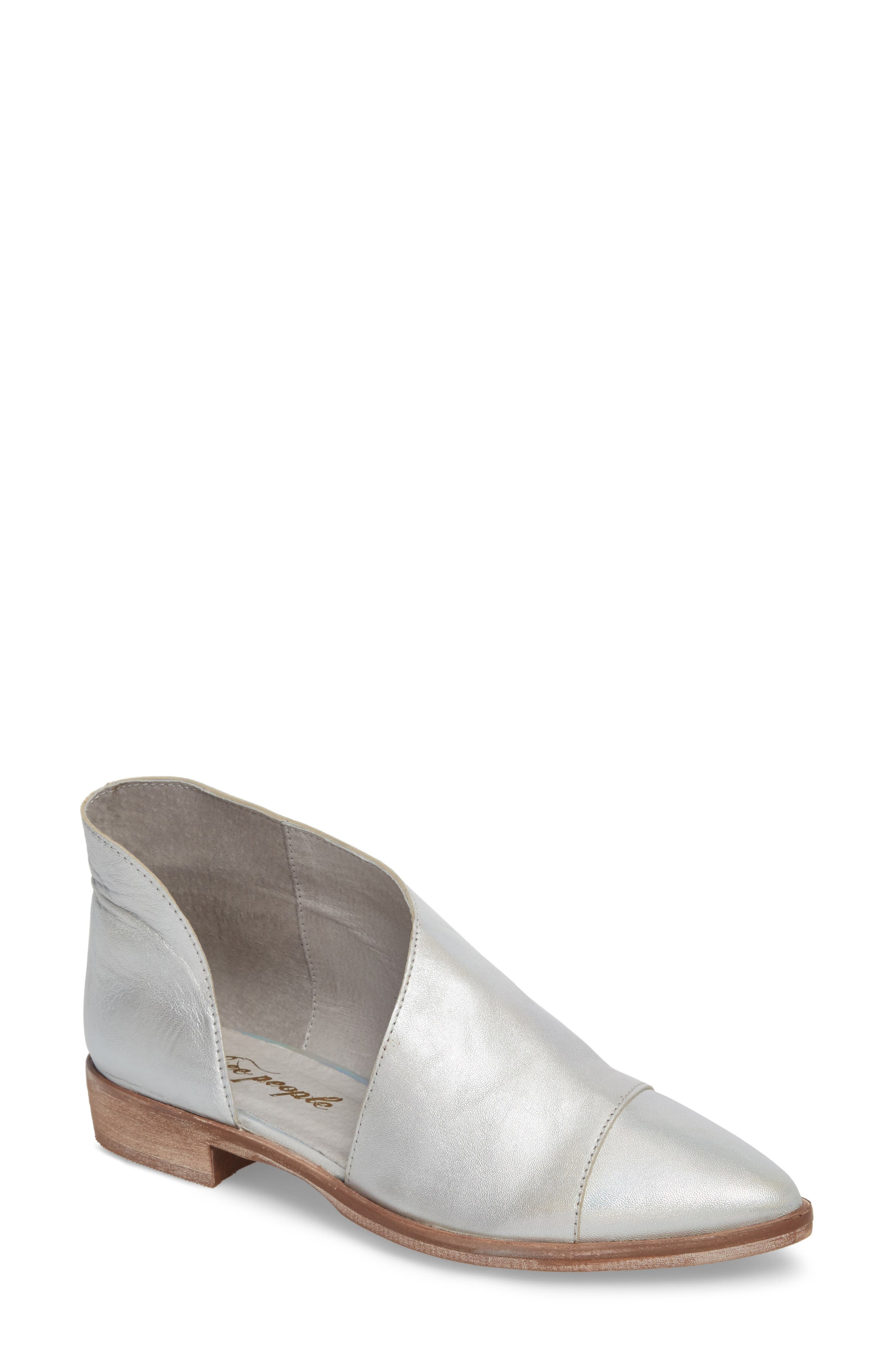 Free People 'Royale' Pointy Toe Flat (Women)
