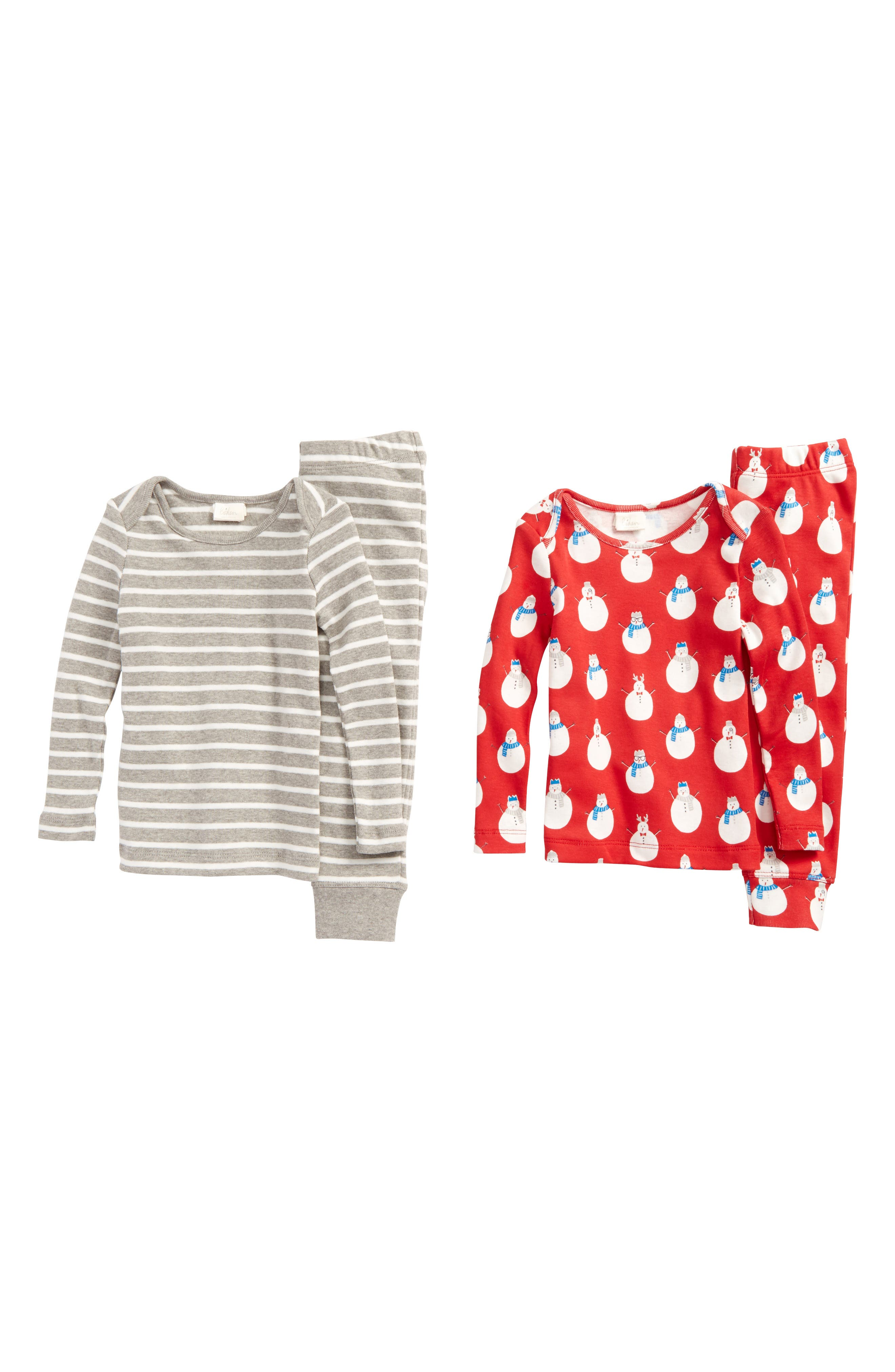 Main Image - Mini Boden 2-Pack Top & Pants Set (Baby Boys)