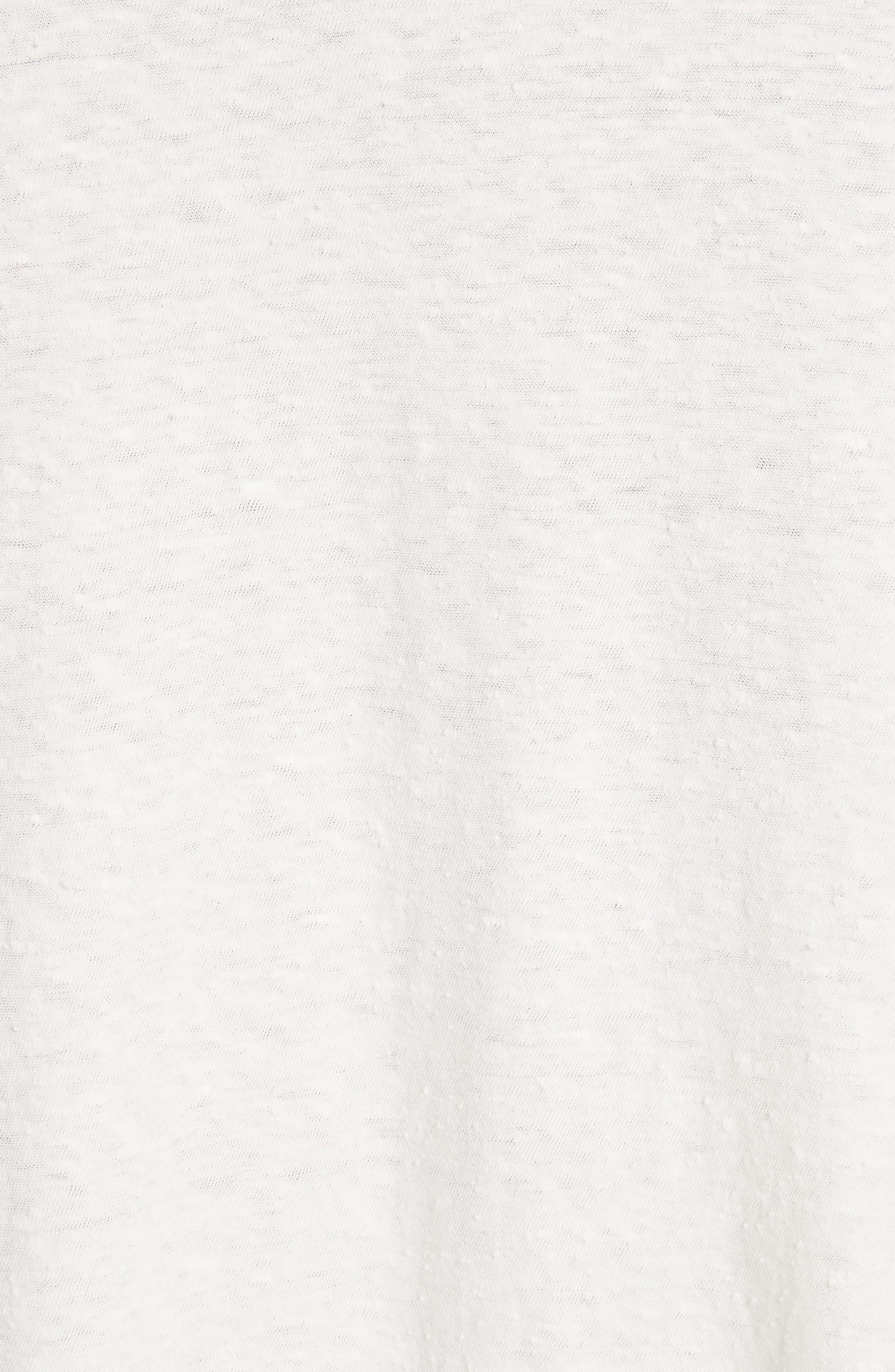 Solano Oversize Cotton Top,                             Alternate thumbnail 5, color,                             White