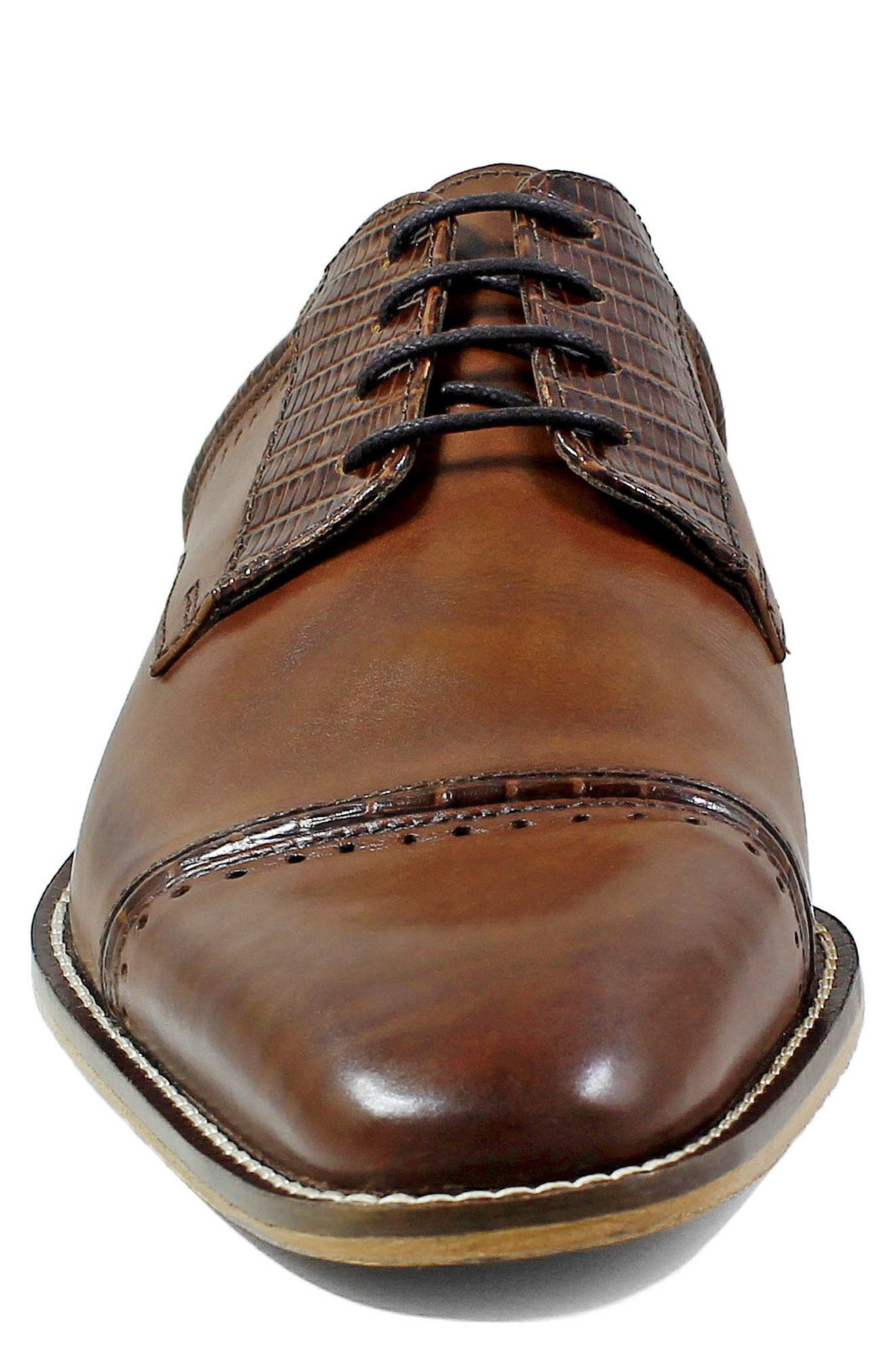 Alternate Image 4  - Stacy Adams Ryland Cap Toe Derby (Men)