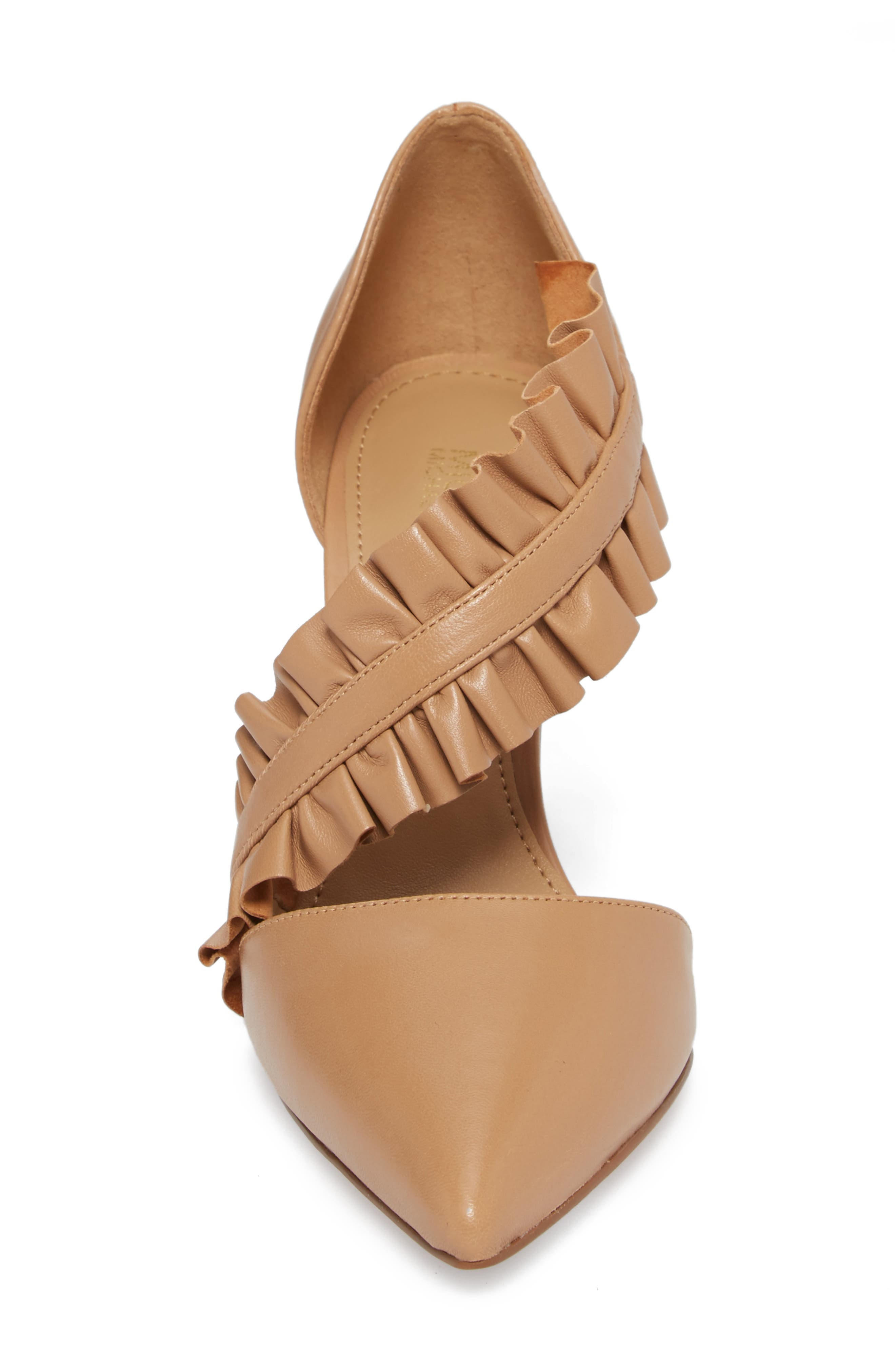Alternate Image 4  - MICHAEL Michael Kors Bella Ruffle Pump (Women)