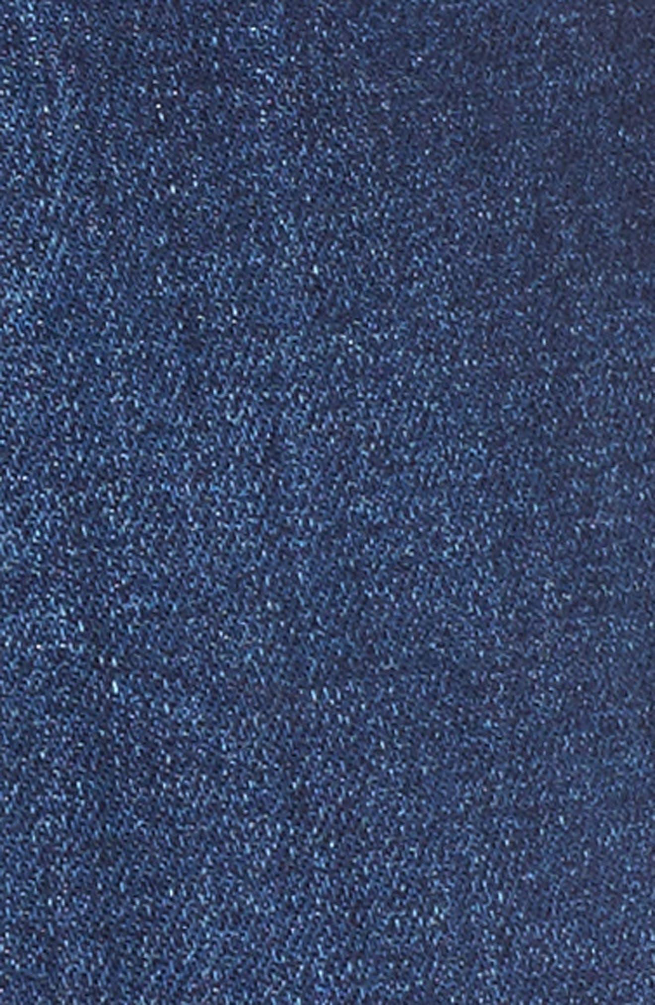 Rose Bowl Cuffed Denim Shorts,                             Alternate thumbnail 6, color,                             Sageland