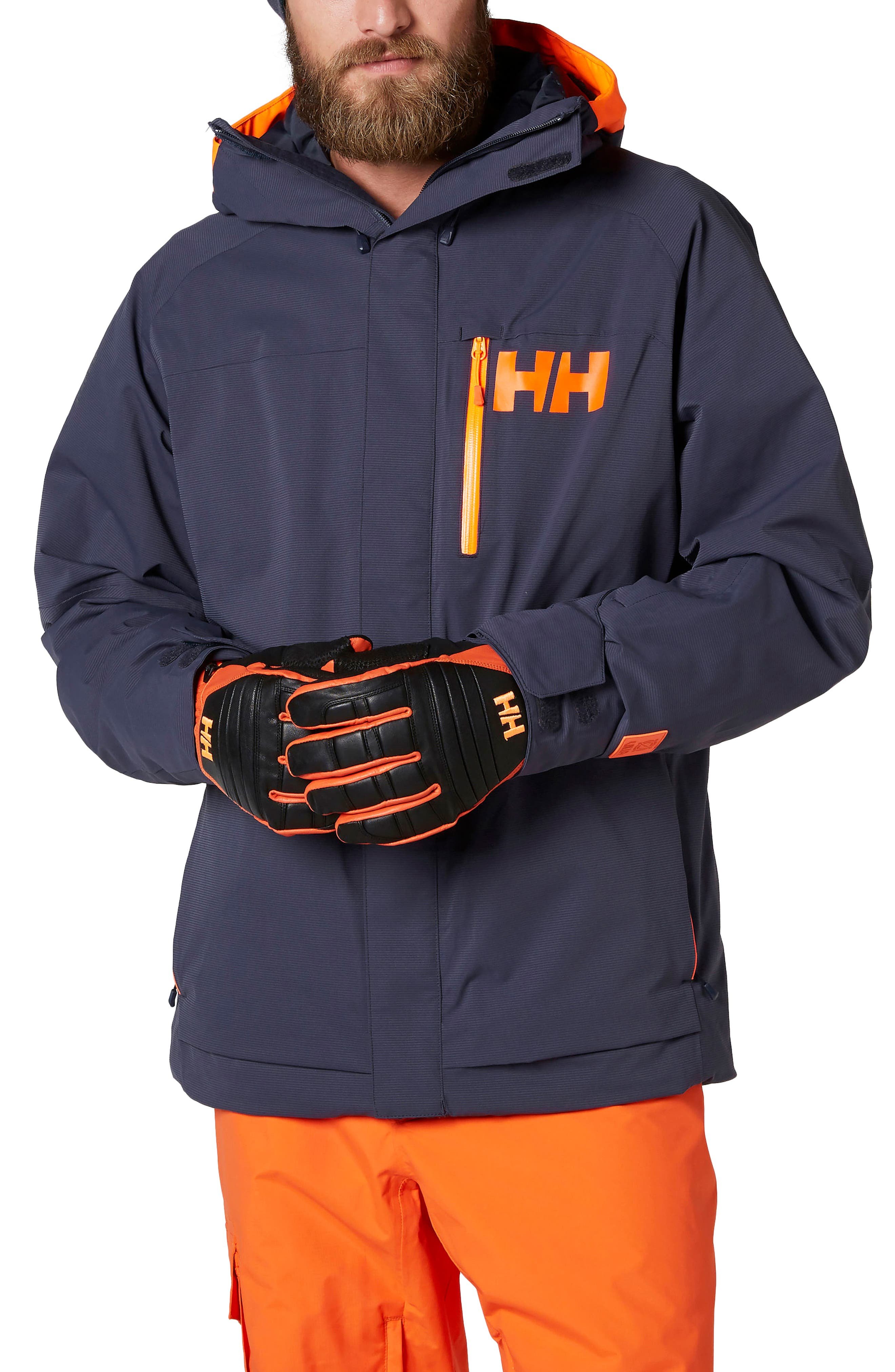 Vestland Waterproof Jacket,                         Main,                         color, Graphite Blue