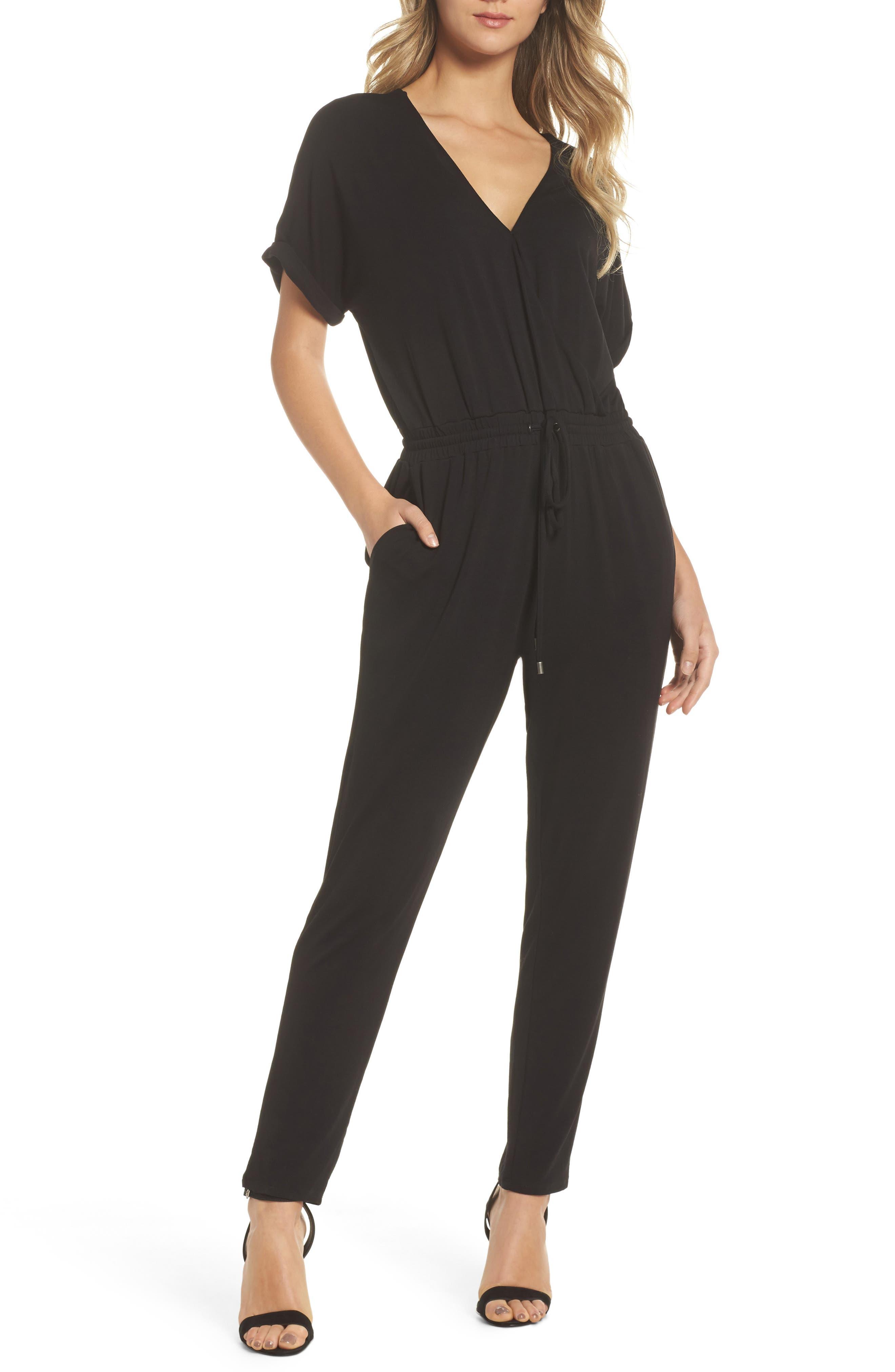 Rocco Jumpsuit,                         Main,                         color, Black