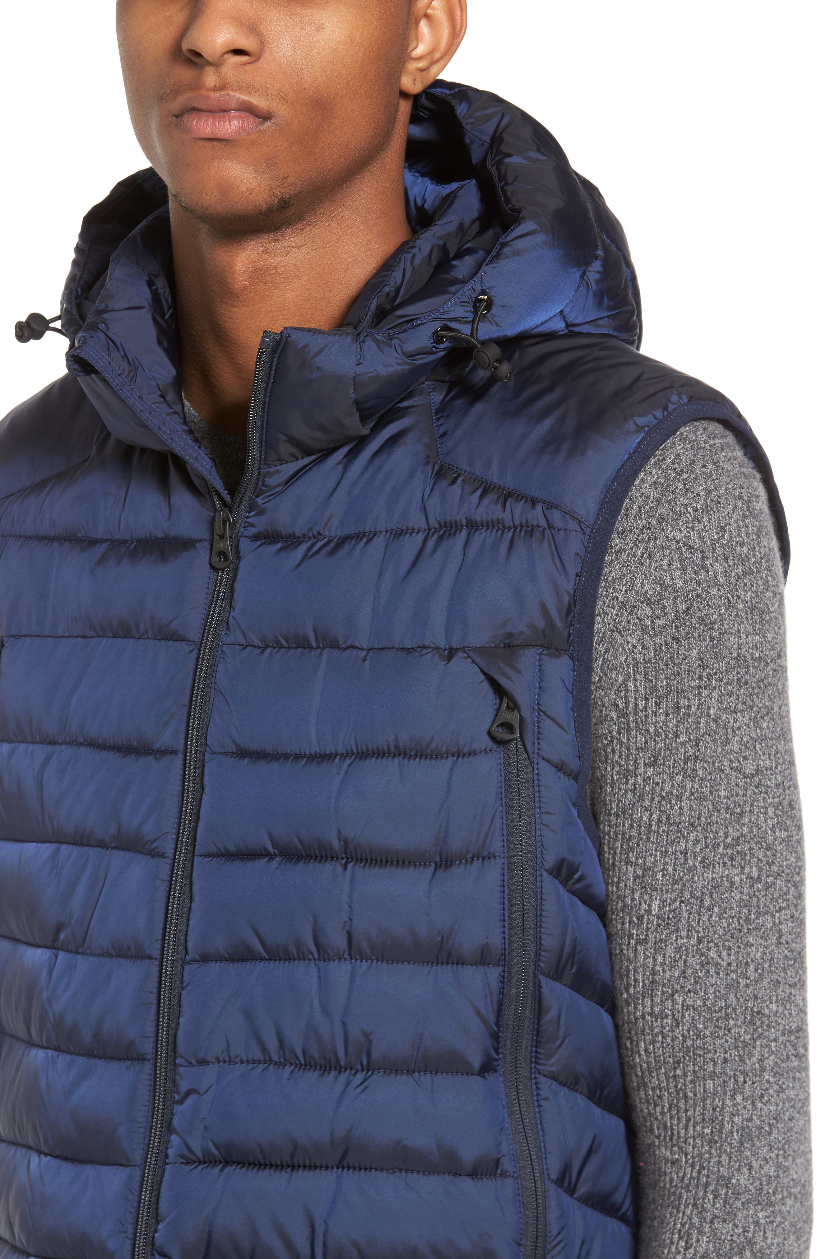 Quilted Vest,                             Alternate thumbnail 4, color,                             Night