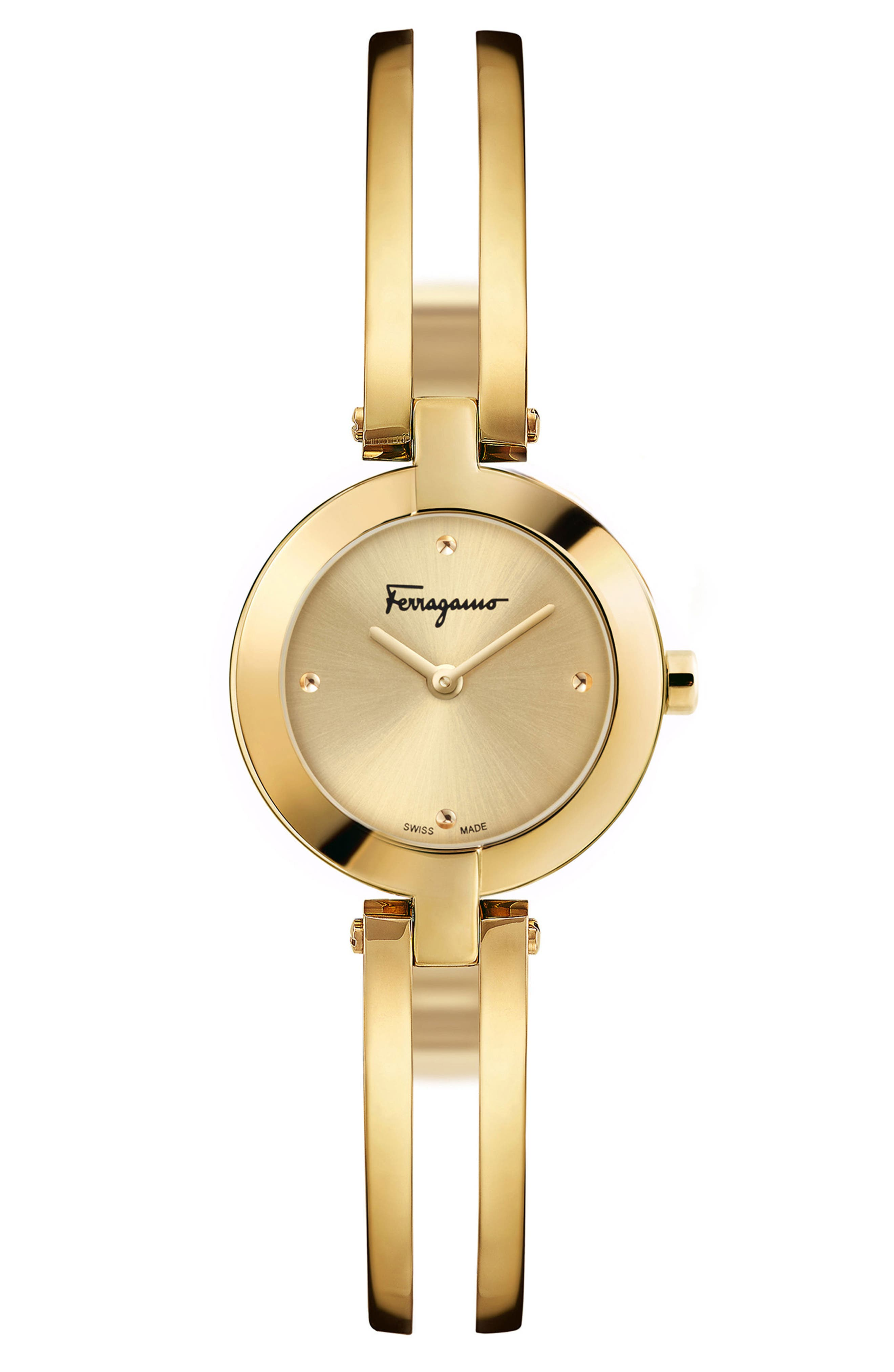 Salvatore Ferragamo Miniature Bracelet Watch, 26mm