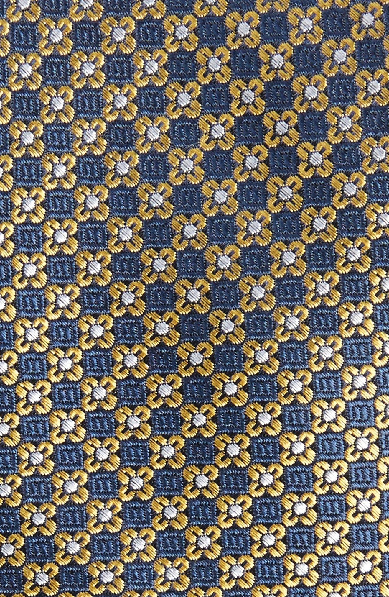 Alternate Image 2  - The Tie Bar Floral Network Silk Skinny Tie
