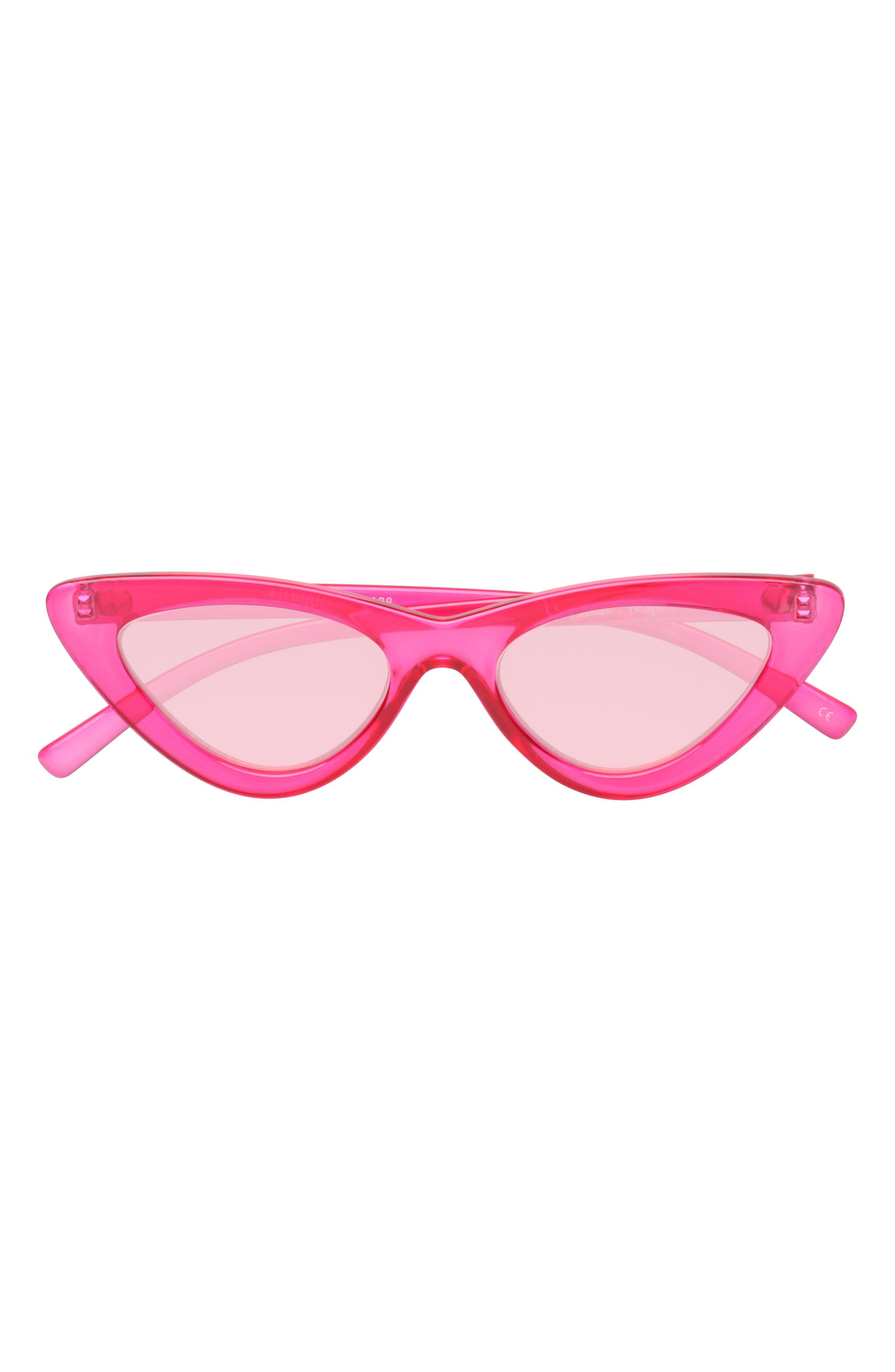 Last Lolita 49mm Cat Eye Sunglasses,                             Alternate thumbnail 2, color,                             Hot Pink
