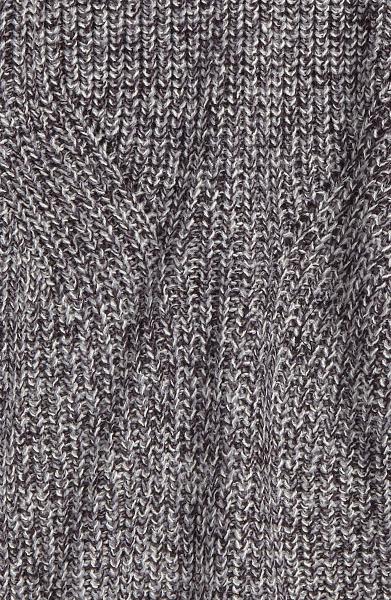 Rib Knit Sweater,                             Alternate thumbnail 2, color,                             Grey Twist