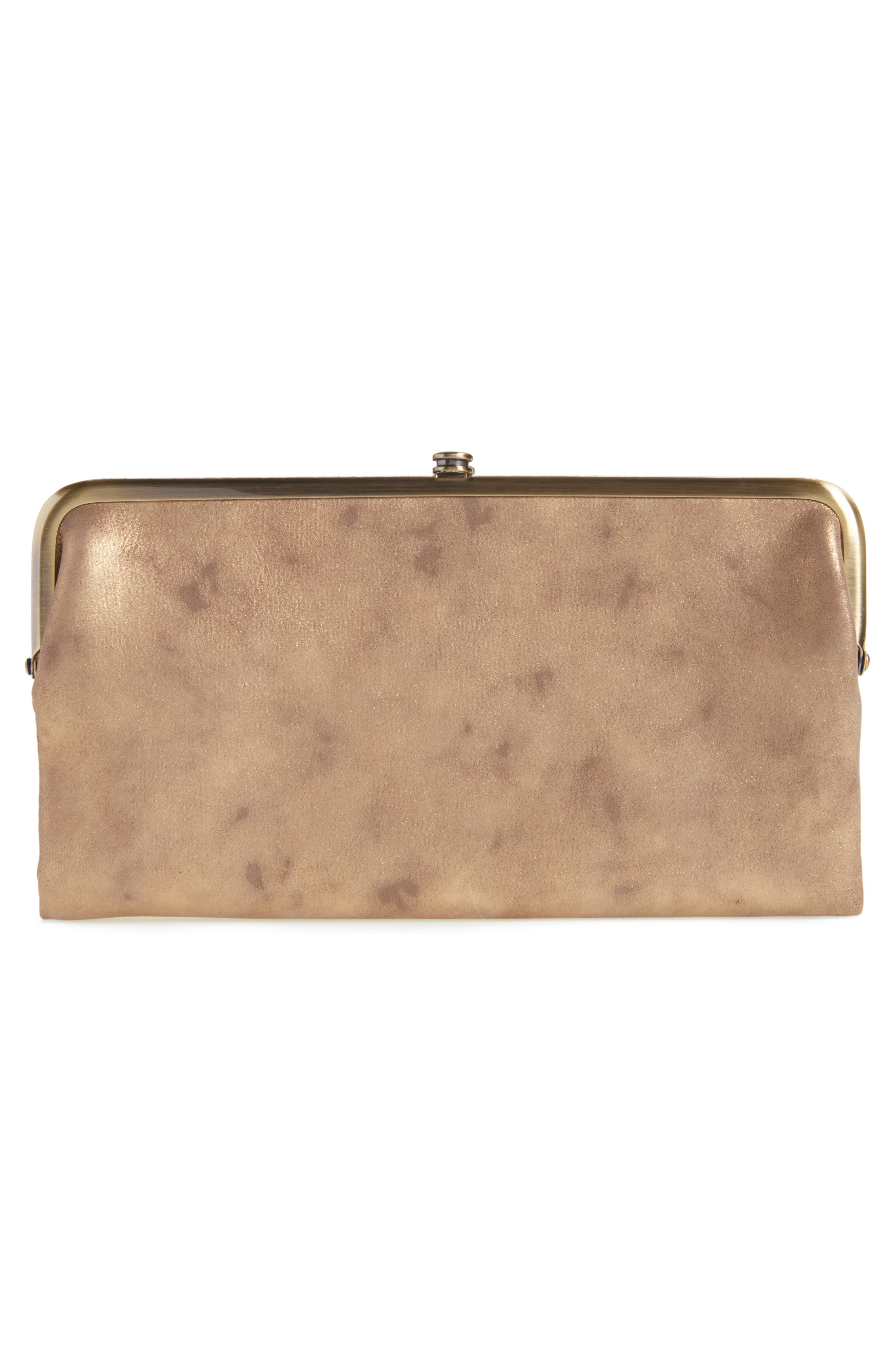 Alternate Image 4  - Hobo 'Lauren' Leather Double Frame Clutch