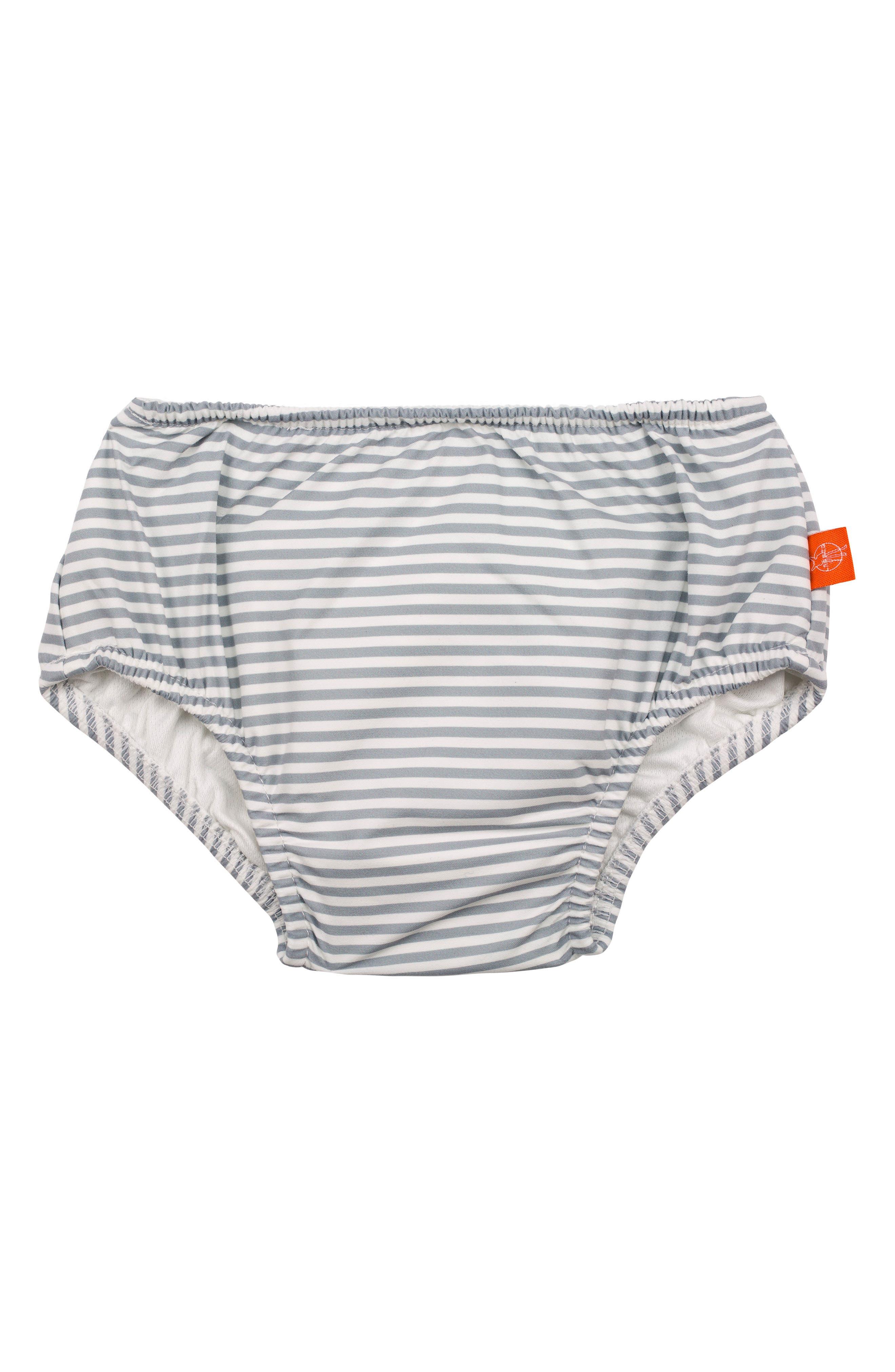 Submarine Swim Diaper Cover,                         Main,                         color, Grey Orange