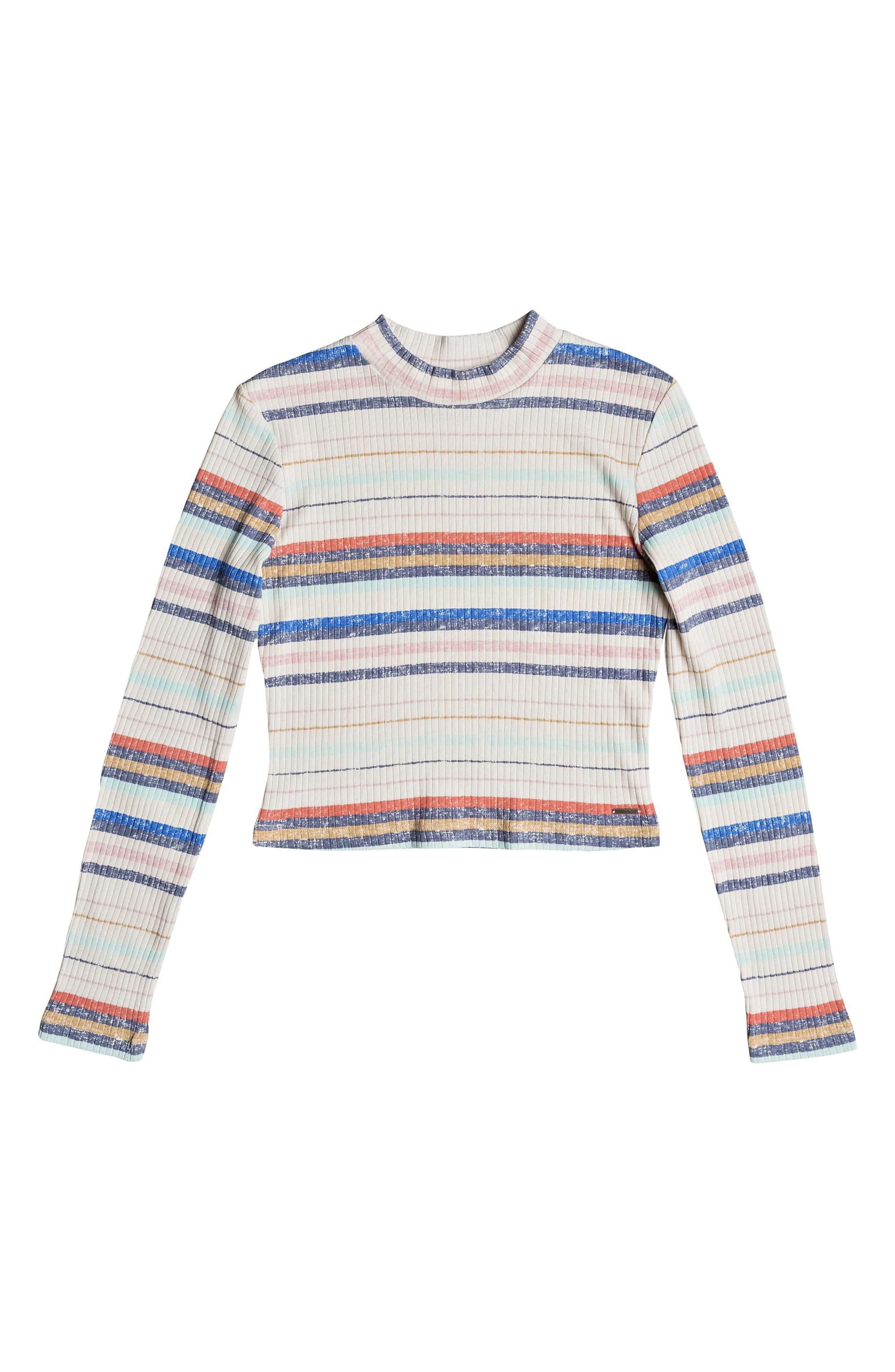 Alternate Image 4  - Roxy Smooth Move Mock Neck Crop Sweater